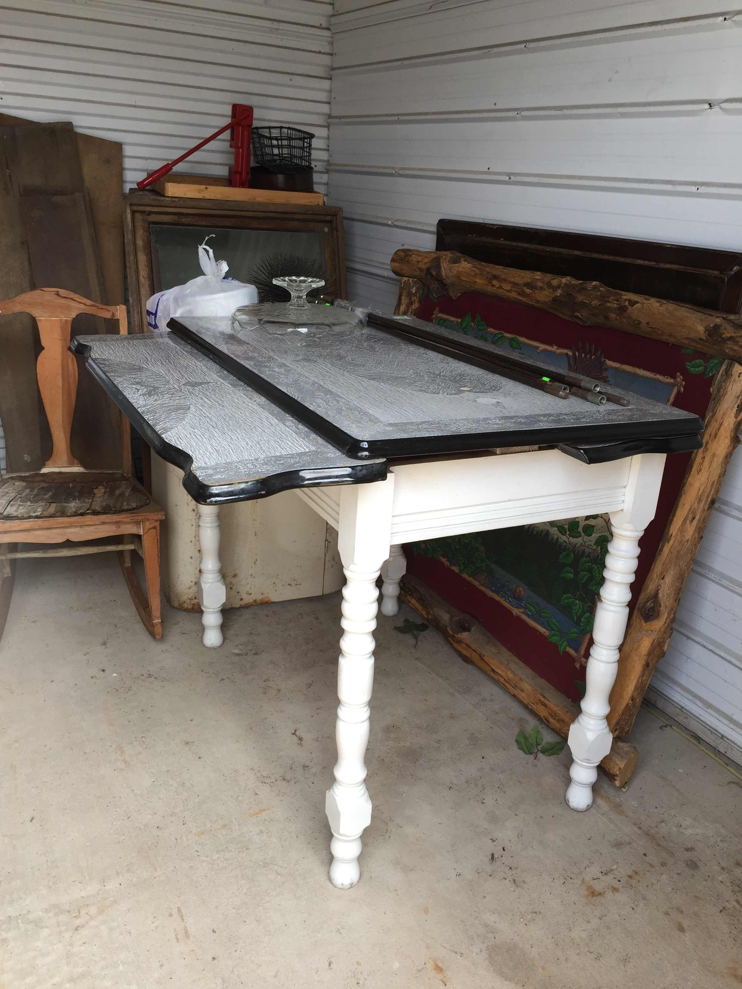 Antique Porcelain Table