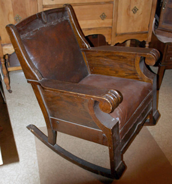 Over 100 Year Old Rocking Chair Antique Appraisal