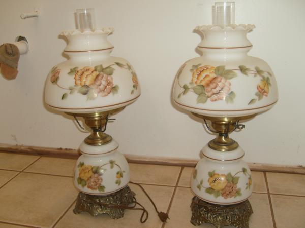 Quoizel 1973 Set Of Hurricane Lamps #1961