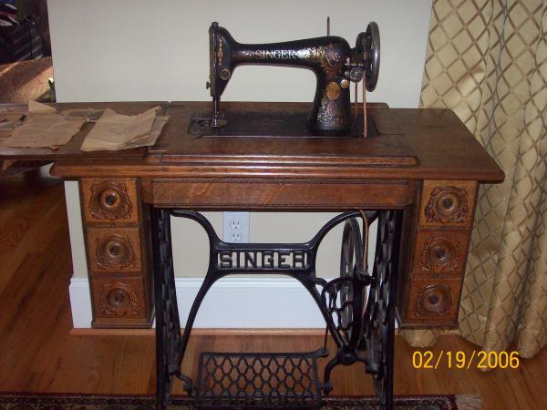 Singer 66 1 Sewing Machine Antique Appraisal Instappraisal