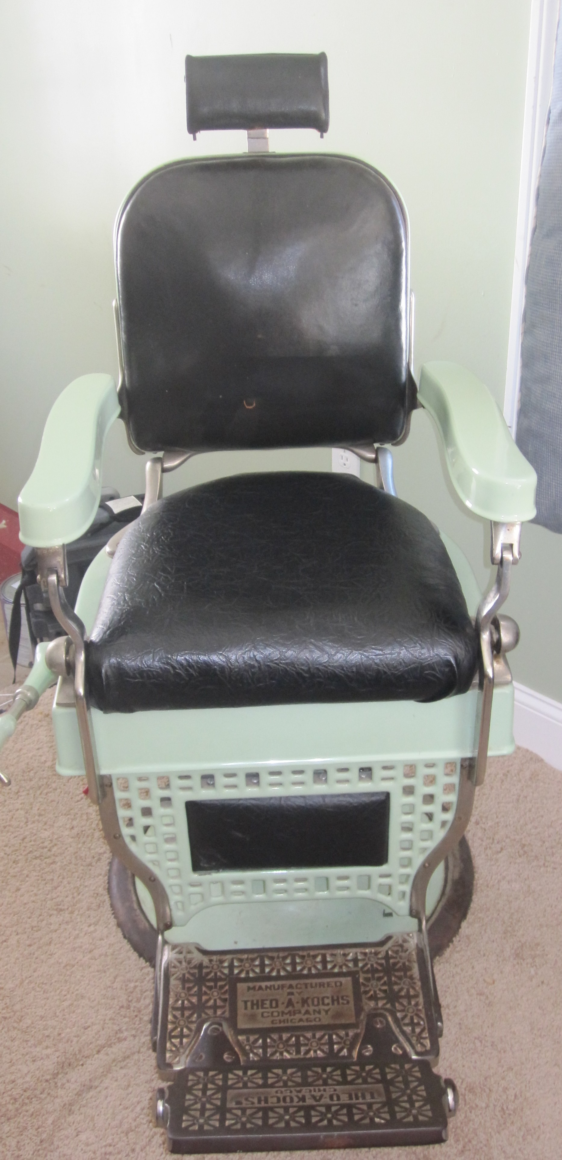 Wonderful THE A KOCH BARBER CHAIR