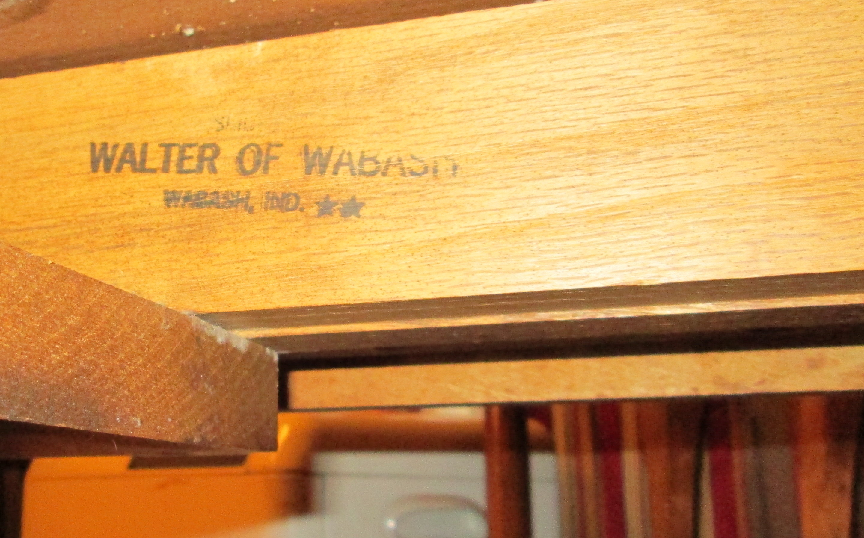 Mid Century Drop Leaf Danish Style Dining Table Walter Of Wabash