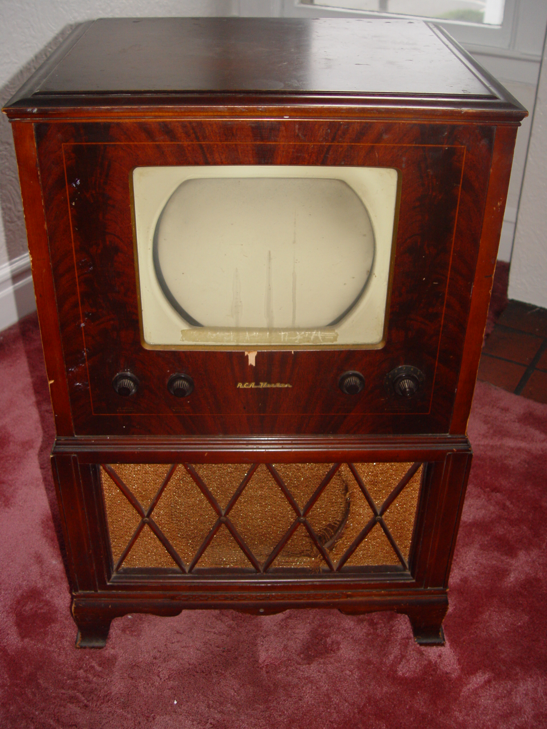 1949 Rca Victor Tv Model 9 Tc 247 K Antique Appraisal