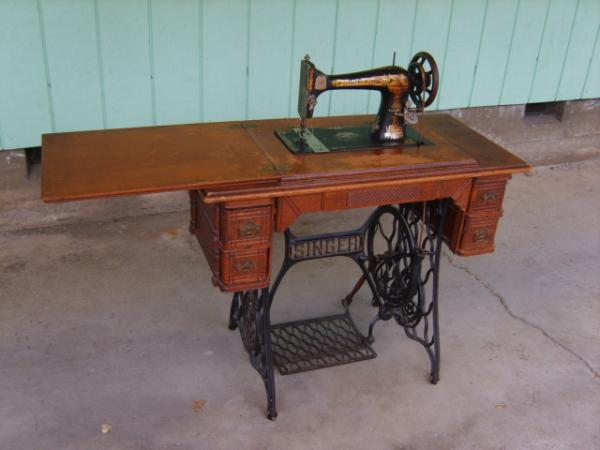 40 Singer Sewing Machine Treadle Model 40 Antique Appraisal Simple Value Of Singer Sewing Machine