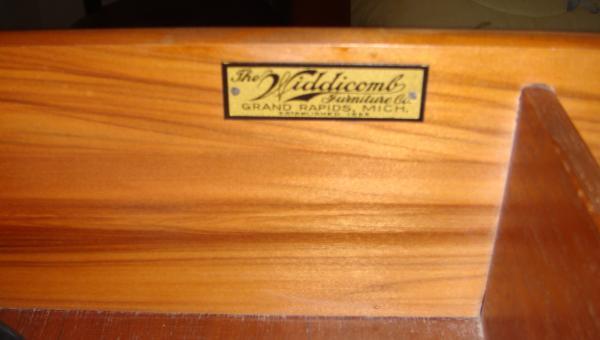 Widdicomb Dresser U0026 Mirror And Matching Chest