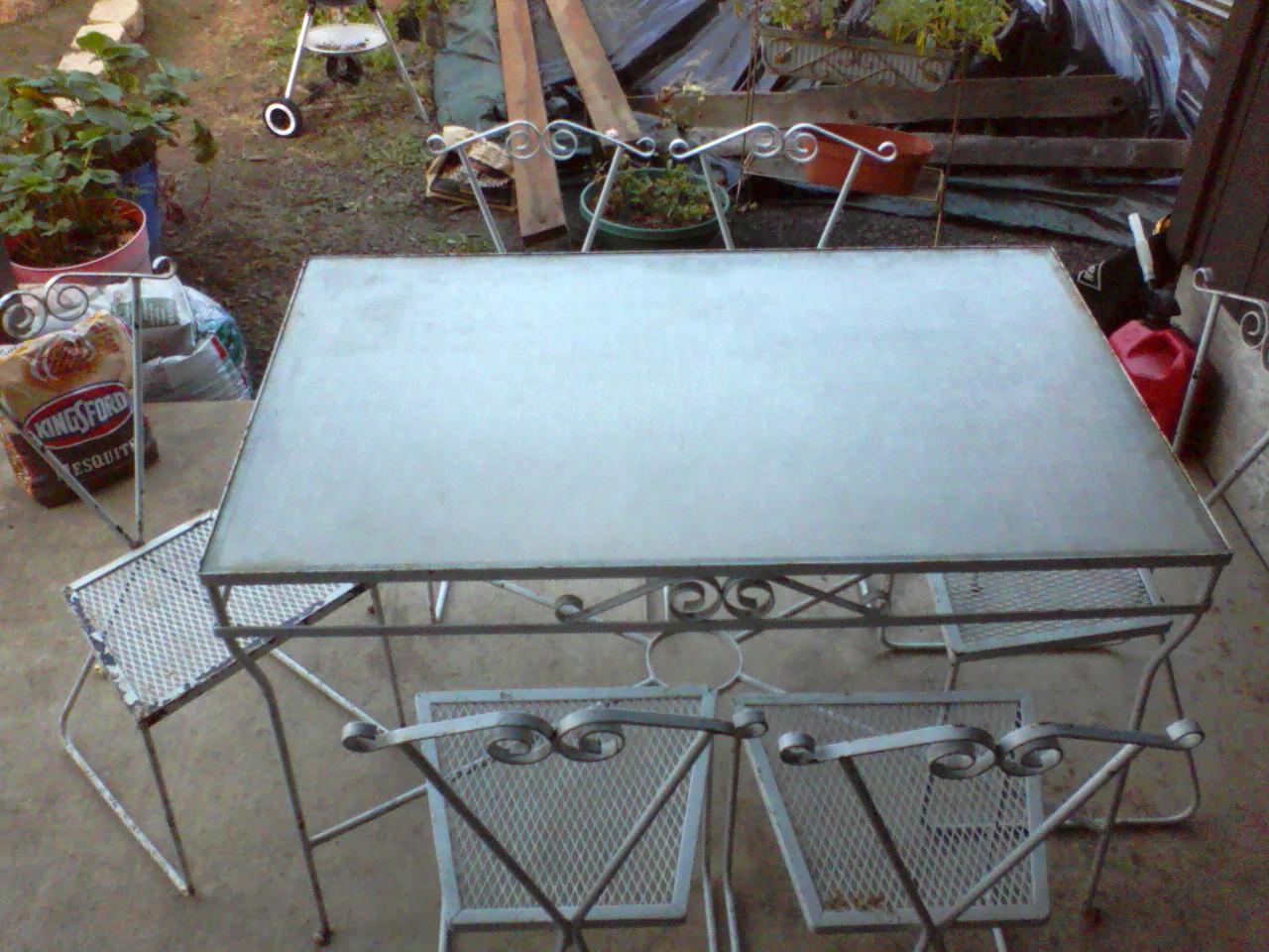 Antique Iron Patio Chairs Tulum Smsender Co