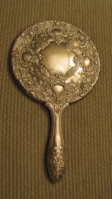 Antique hand mirror Animated Hand Antique Hand Mirror Instappraisal Antique Hand Mirror Antique Appraisal Instappraisal