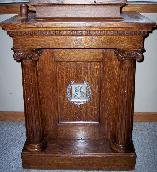 Antique Furniture Appraisal: Masonic Lodge Furniture Ensemble Antique Appraisal