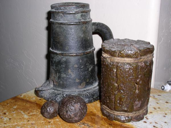 Thundermug and cannon shot antique appraisal | InstAppraisal