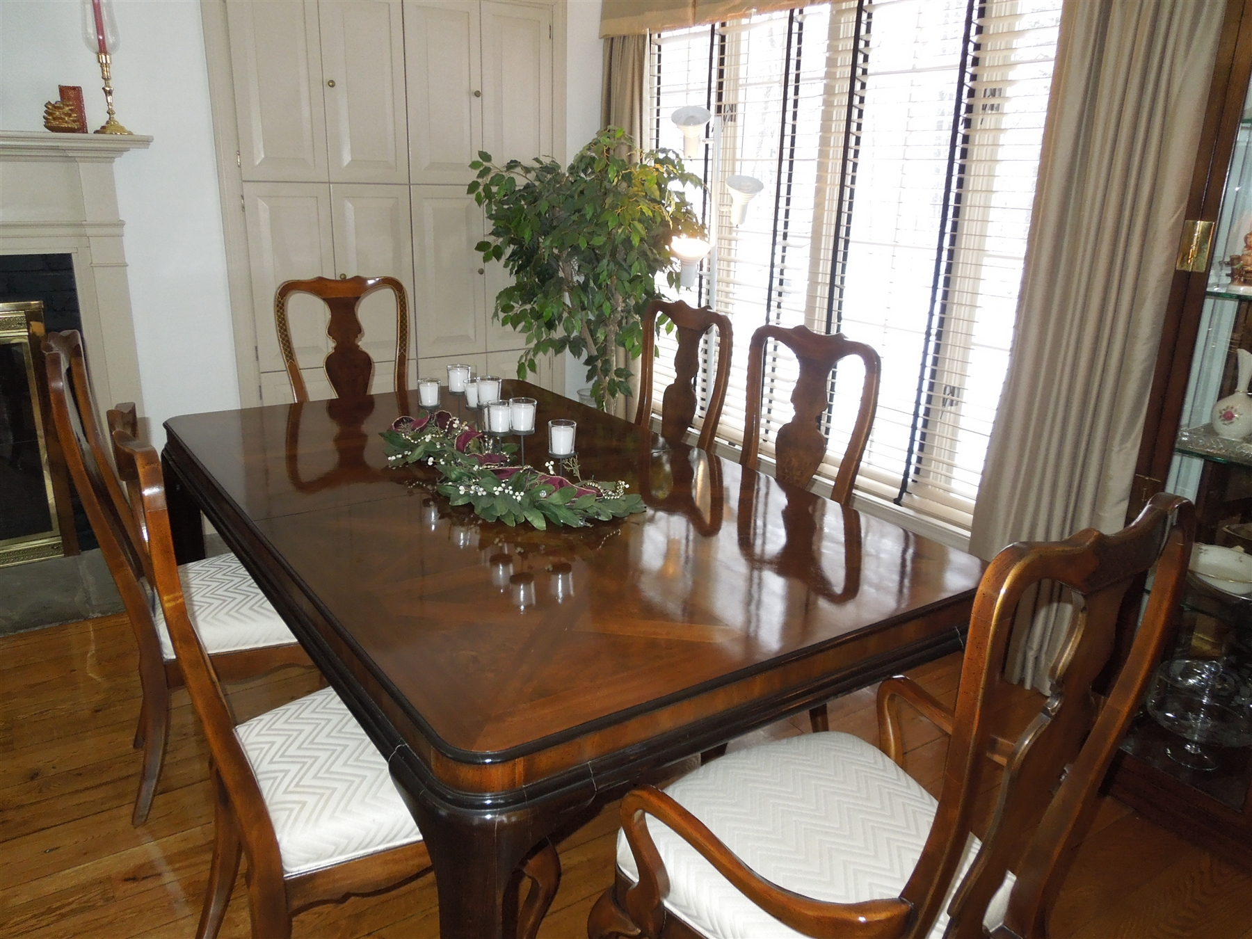 Bon Drexel Heritage Connoisseur Dining Table And Chairs