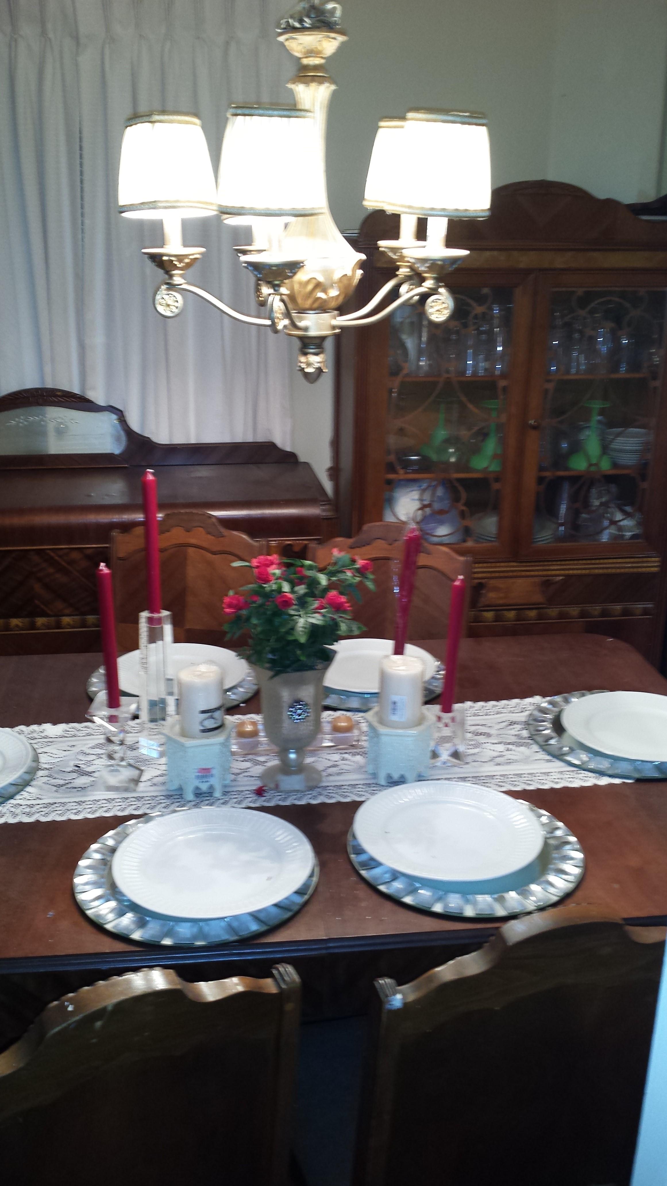 Rare Antique Bassett Furniture Dining Set Antique