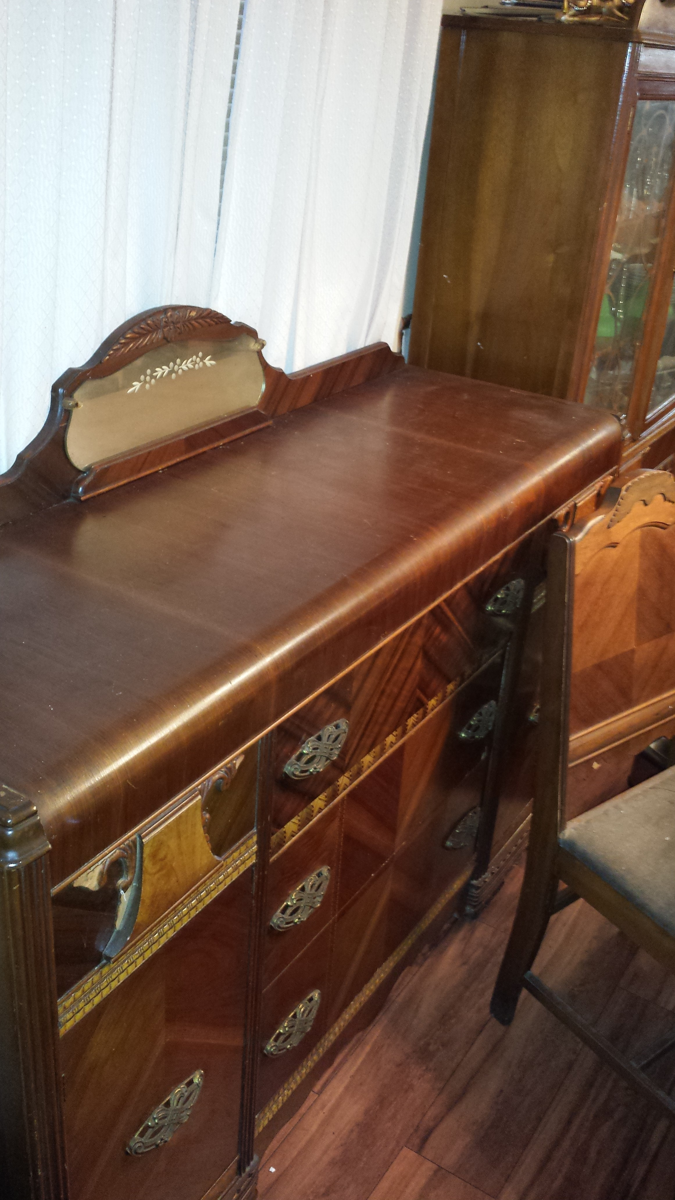rare antique bassett furniture dining set antique appraisal rh instappraisal com 1940 Antique Bassett Dining Room Set Antique Drexel Dining Room Set