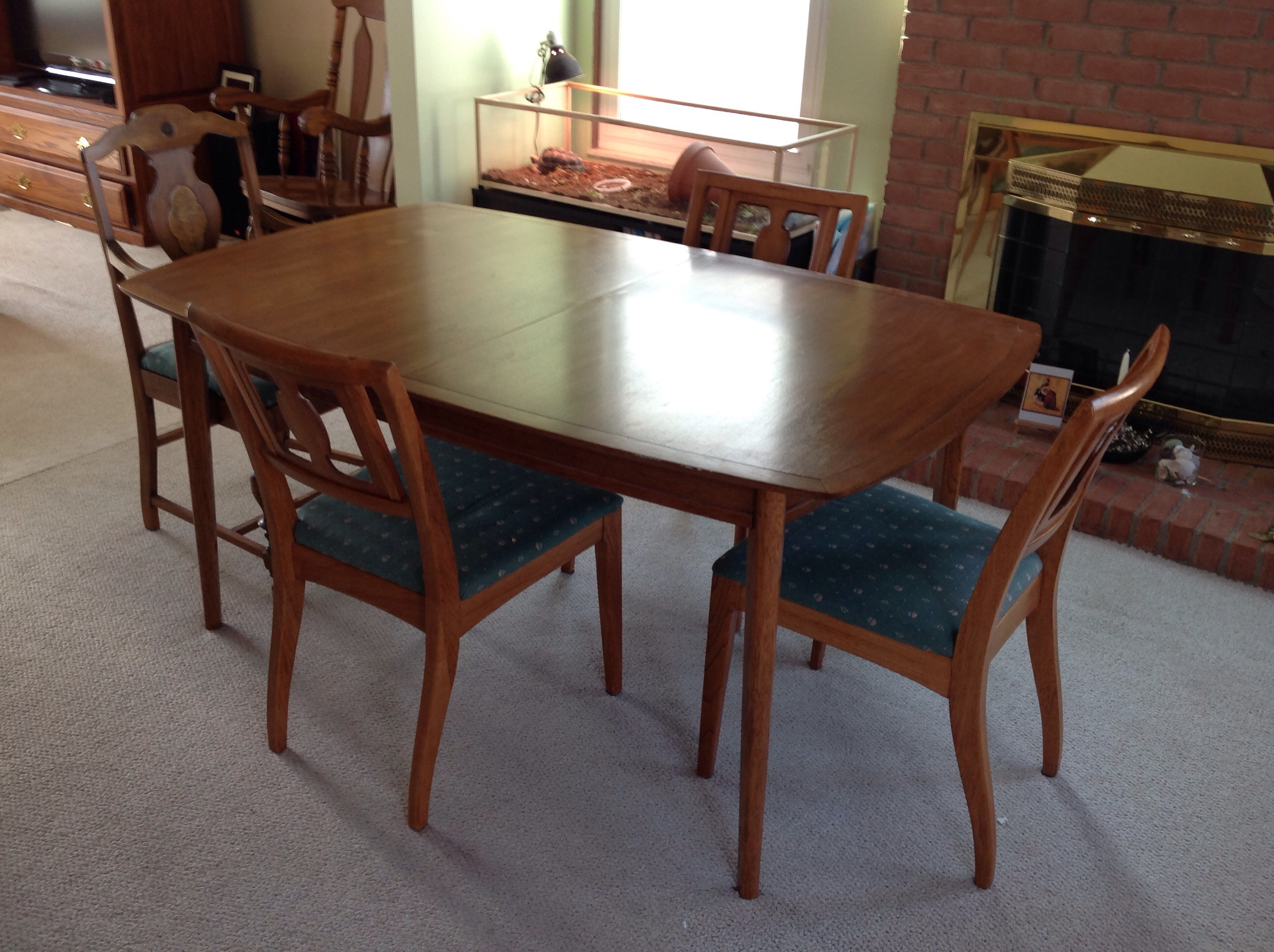 Meridian By Drexel Dining Room Table Set (1962)