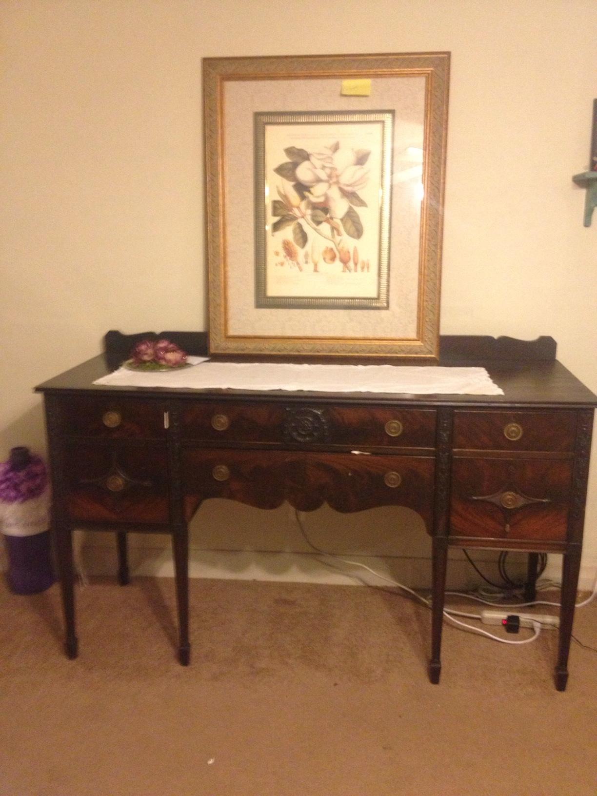 Thomas Paine Furniture Boston Ma Dining Room Suite Antique