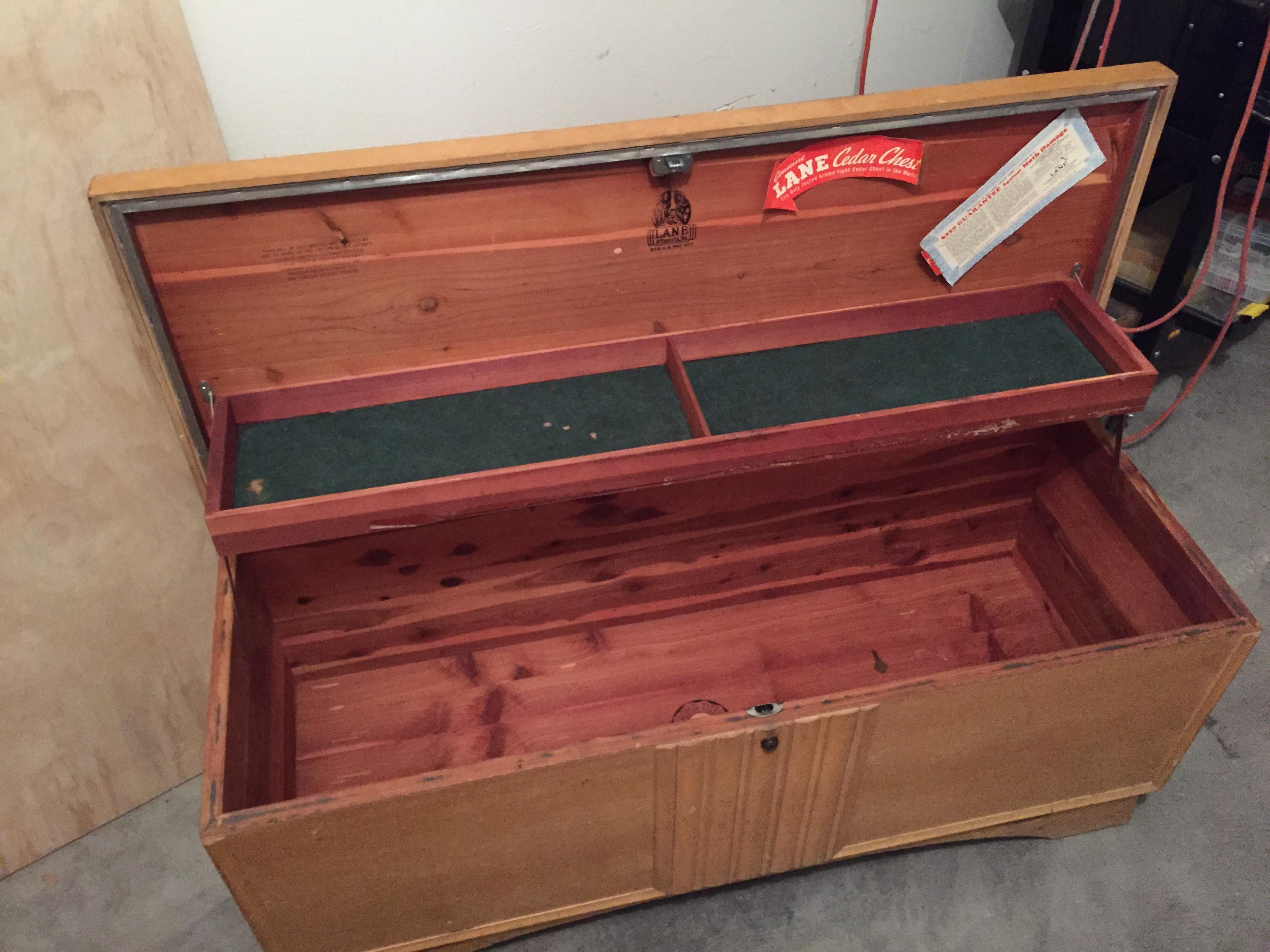 1952 Lane Cedar Chest Antique Appraisal Instappraisal