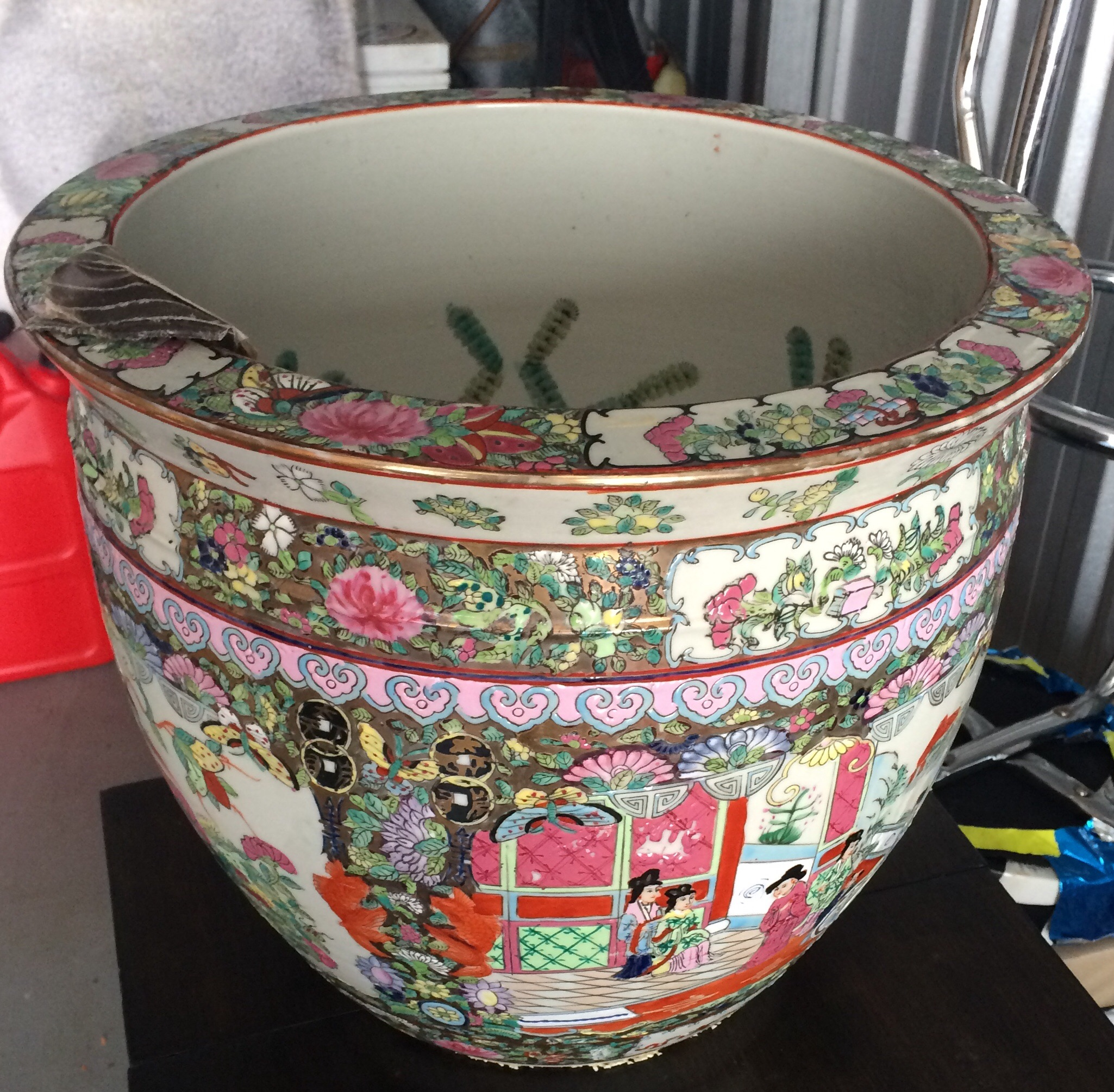Chinese Fish Bowl Planter Antique Appraisal Instappraisal