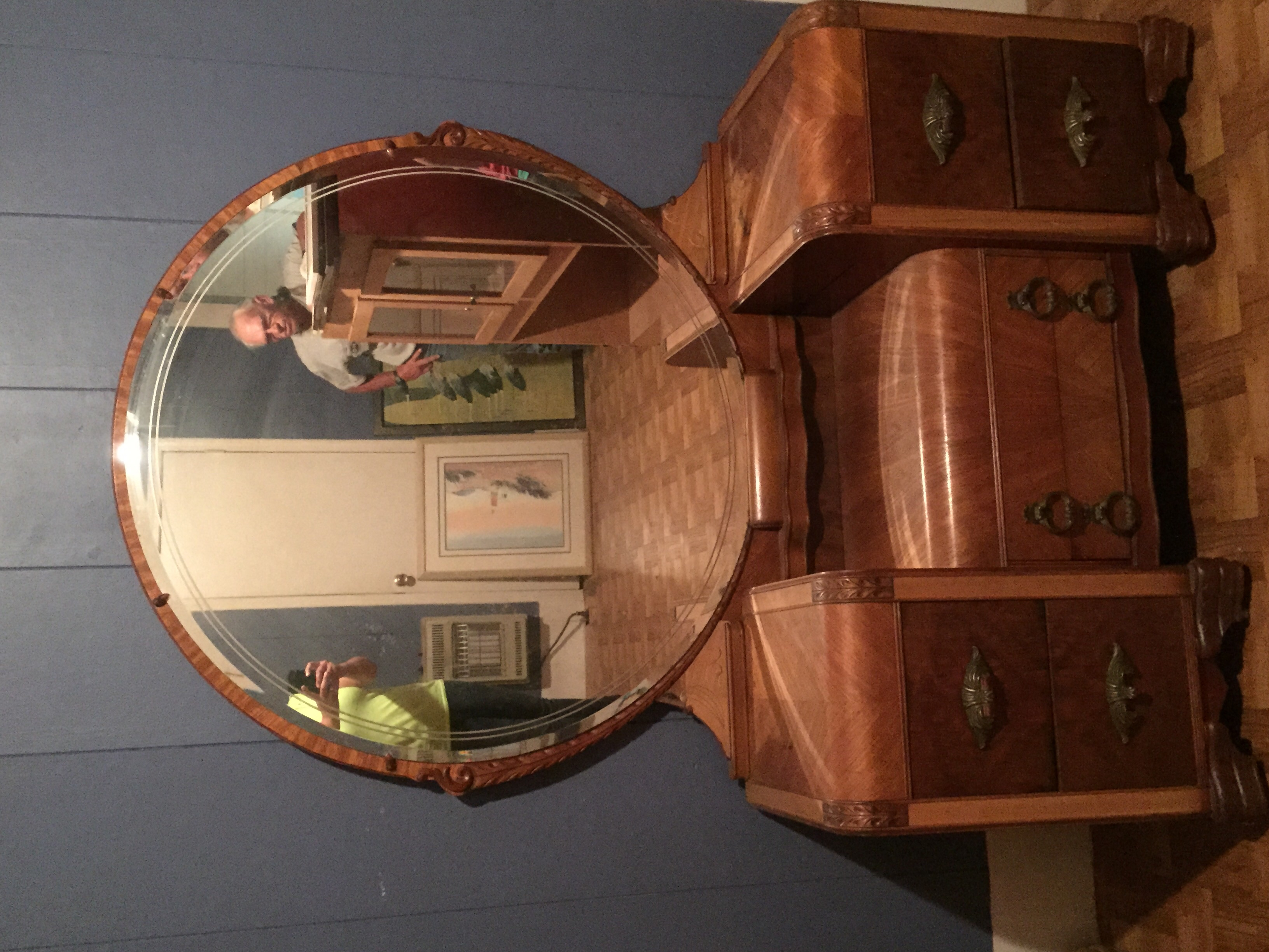 Antique Lenoir Furniture Corporation Bedroom Set