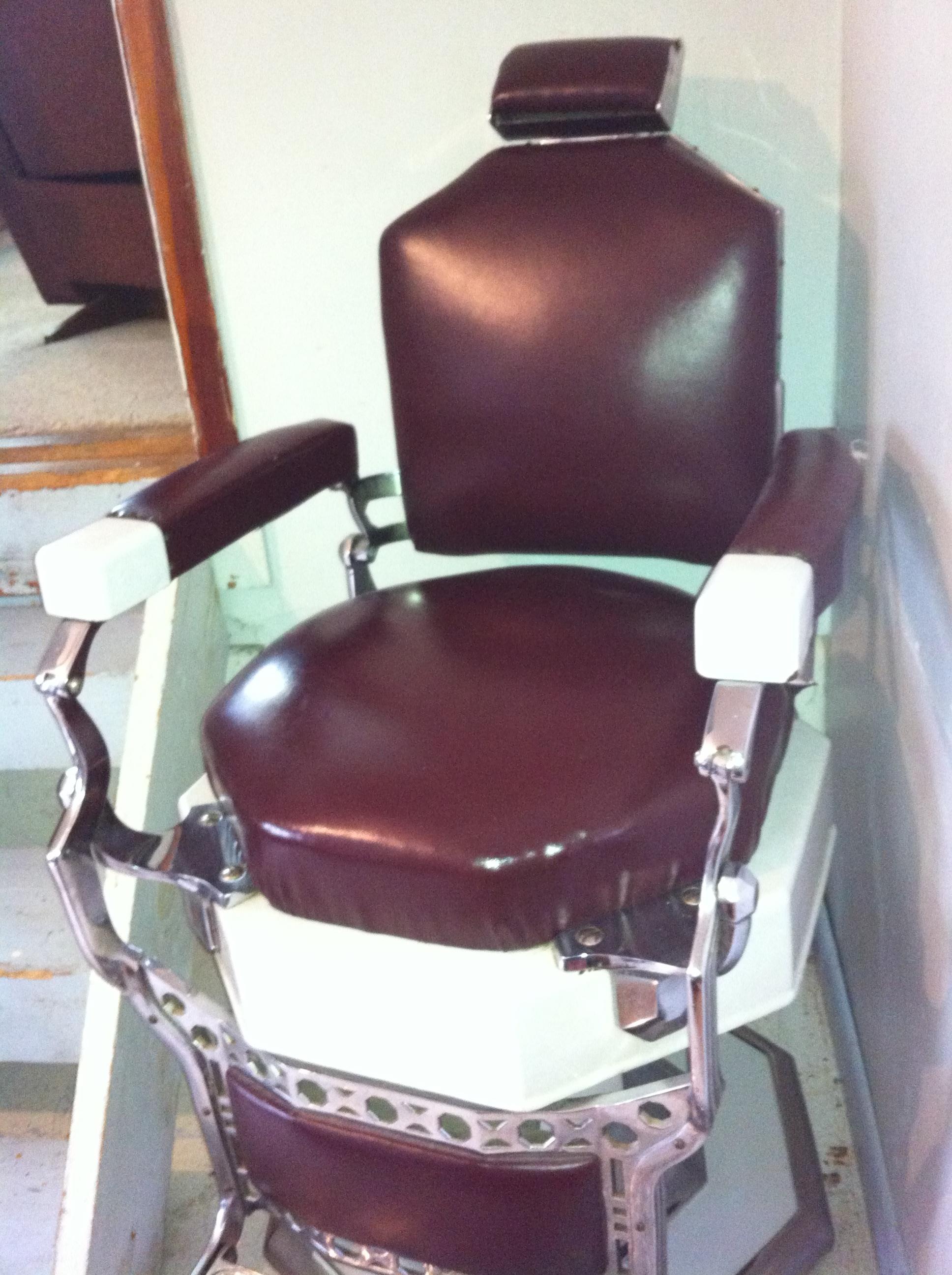 Antique Koken Barber Chair & Antique Koken Barber Chair antique appraisal | InstAppraisal