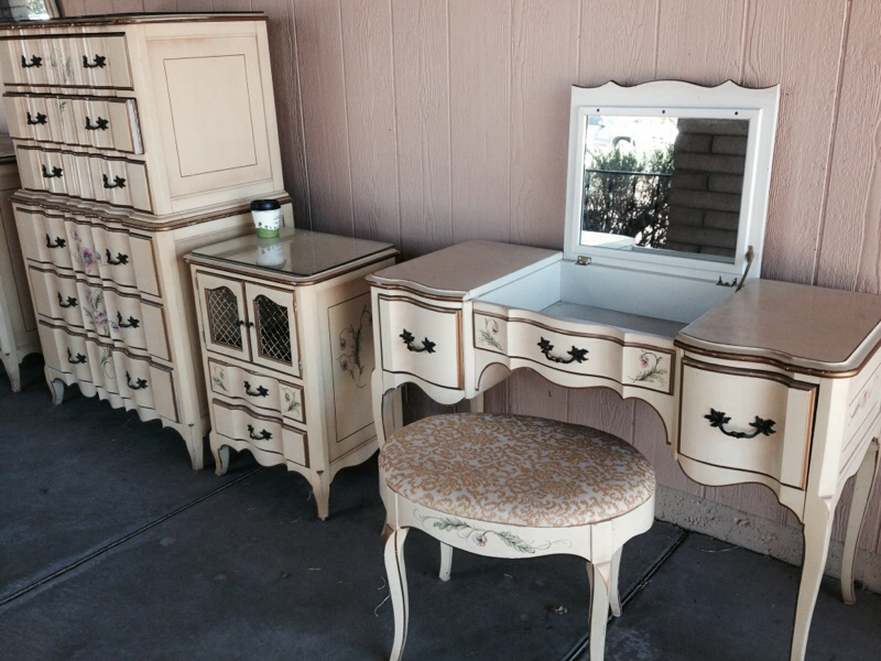Vintage Bedroom Set Victorian By Case Burns Jamestown Ny