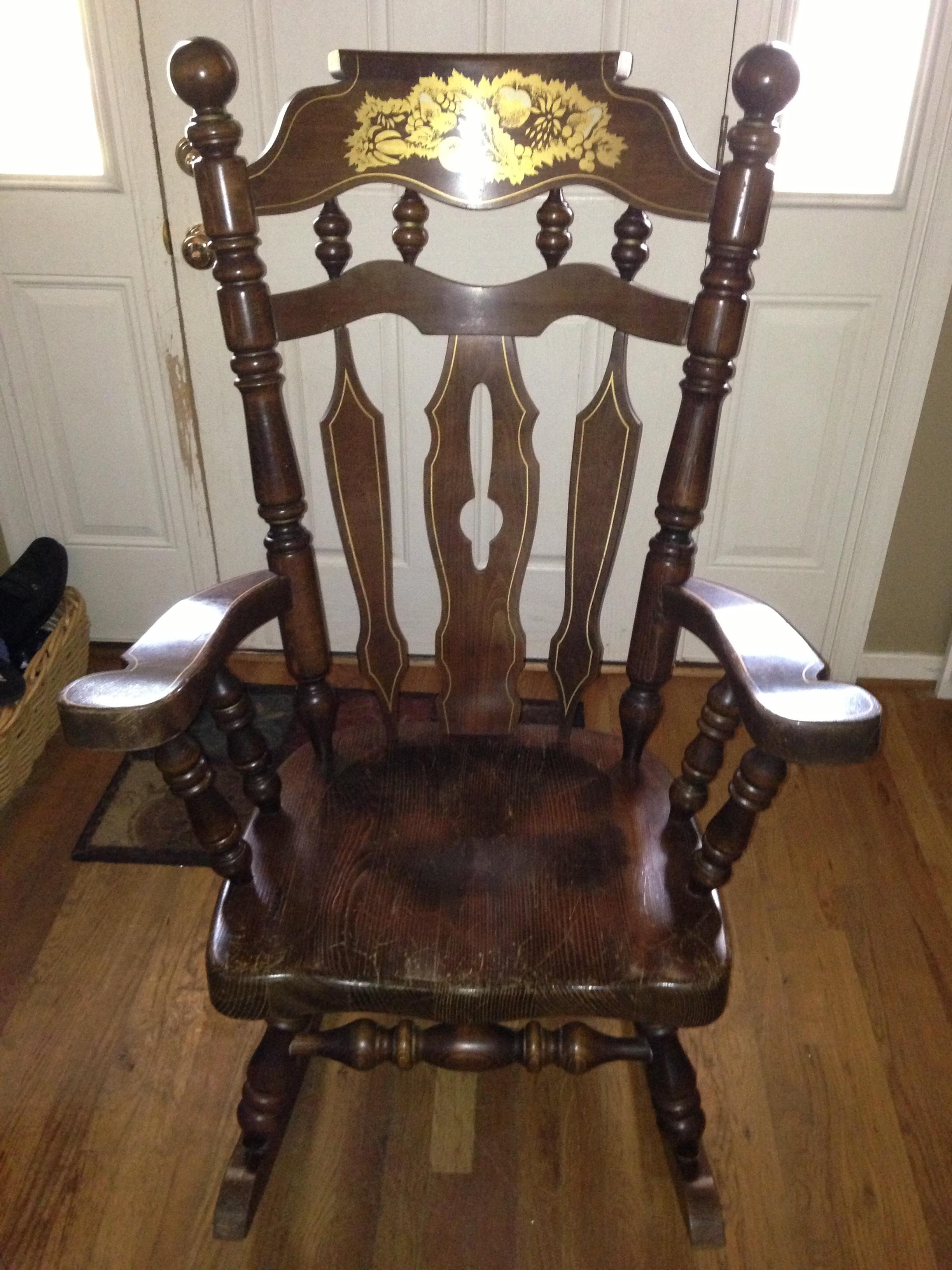 Rocking Chair Made In Yugoslavia Antique Appraisal