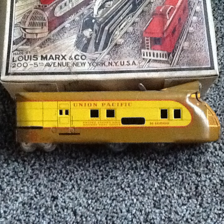 Streamlined train Toy train antique appraisal | InstAppraisal