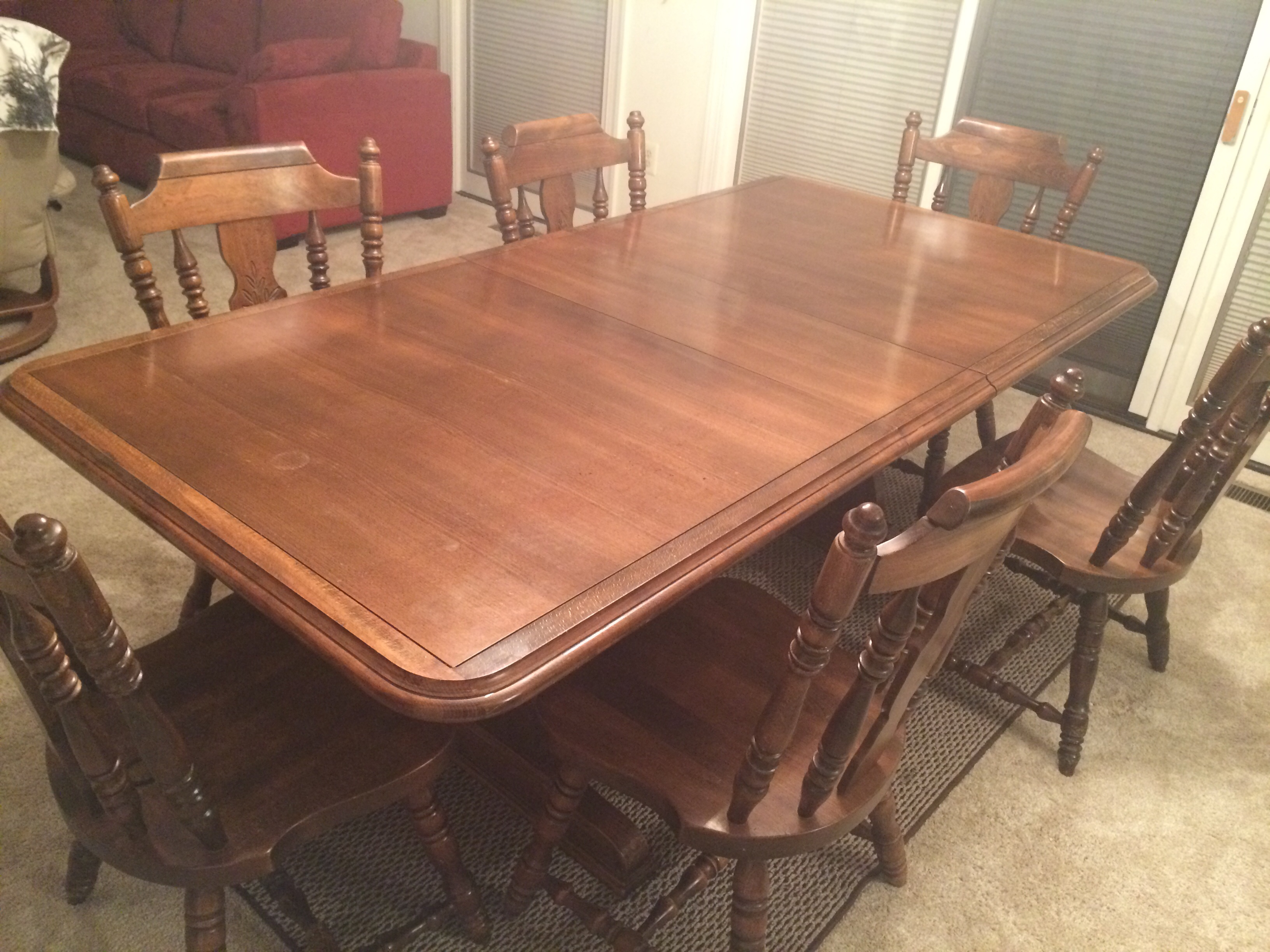Walter Of Wabash Dinning Table