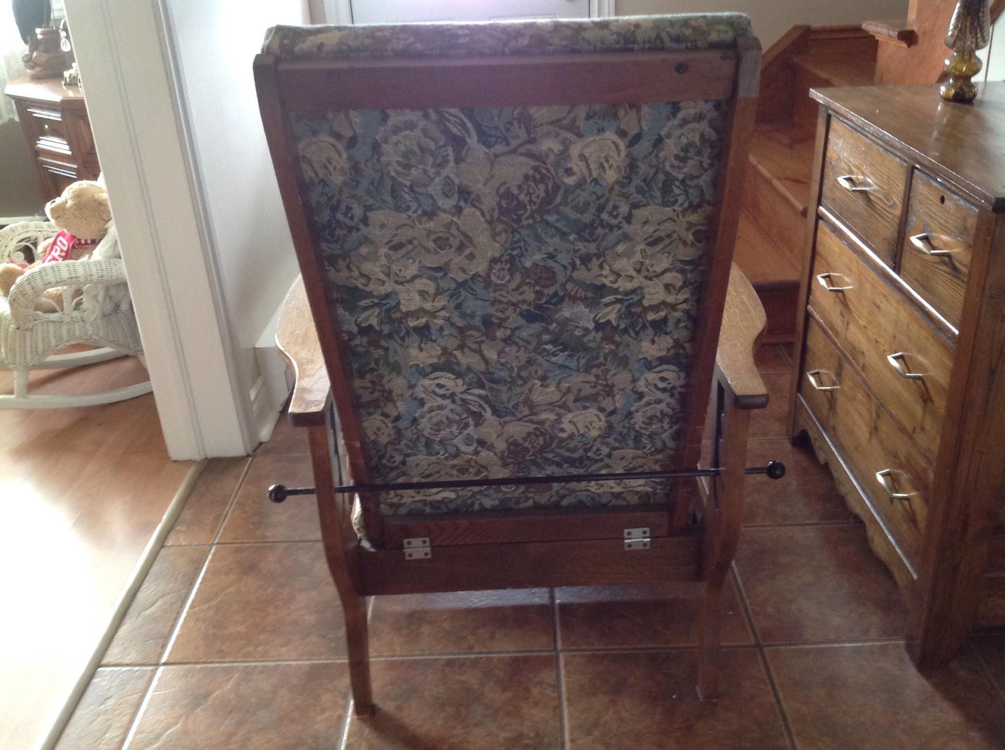 Antique stickley morris chair - Antique Stickley Morris Chair