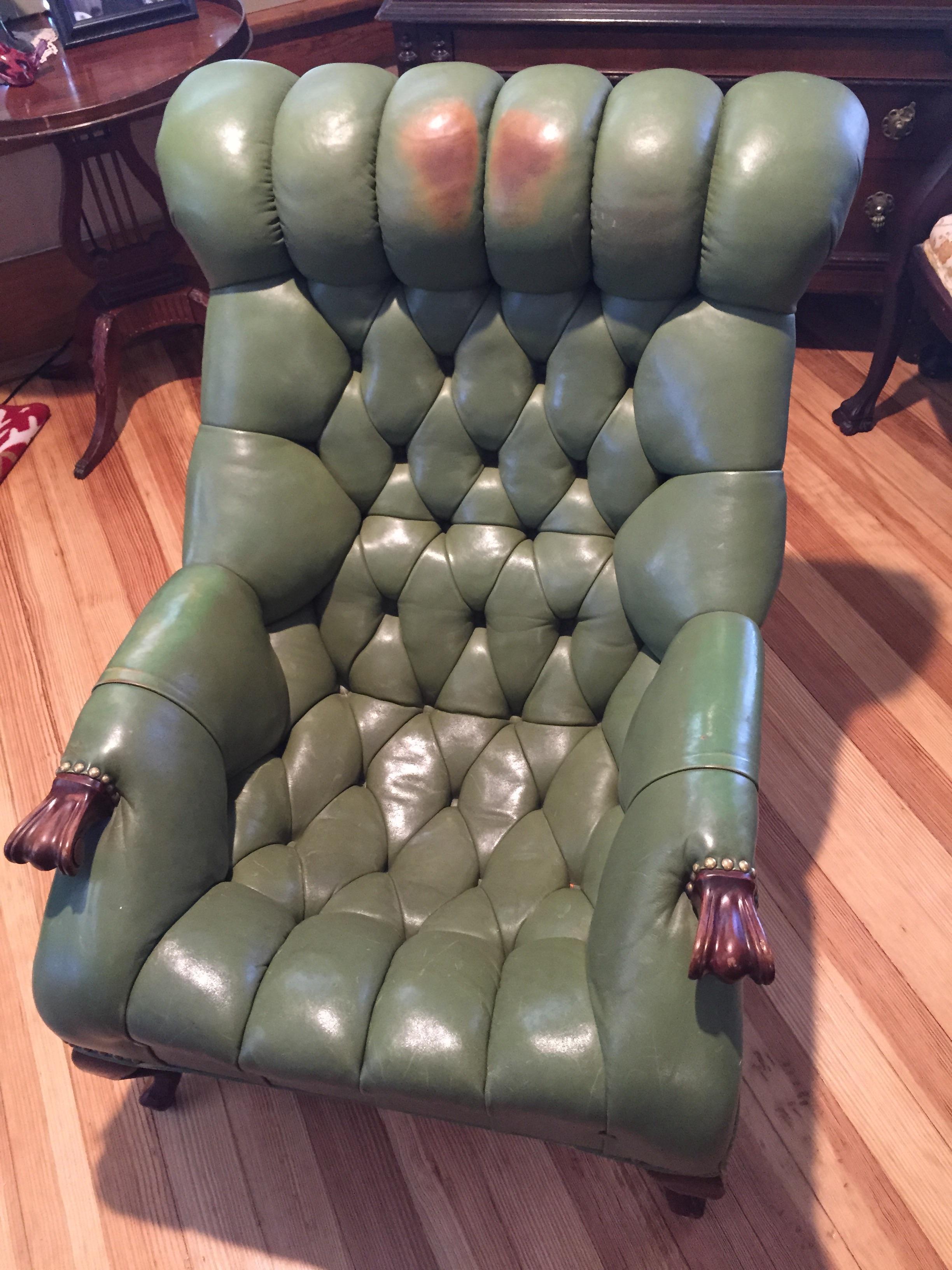 Carl S Forslund Rip Van Lee Chair Amp Ottoman Antique