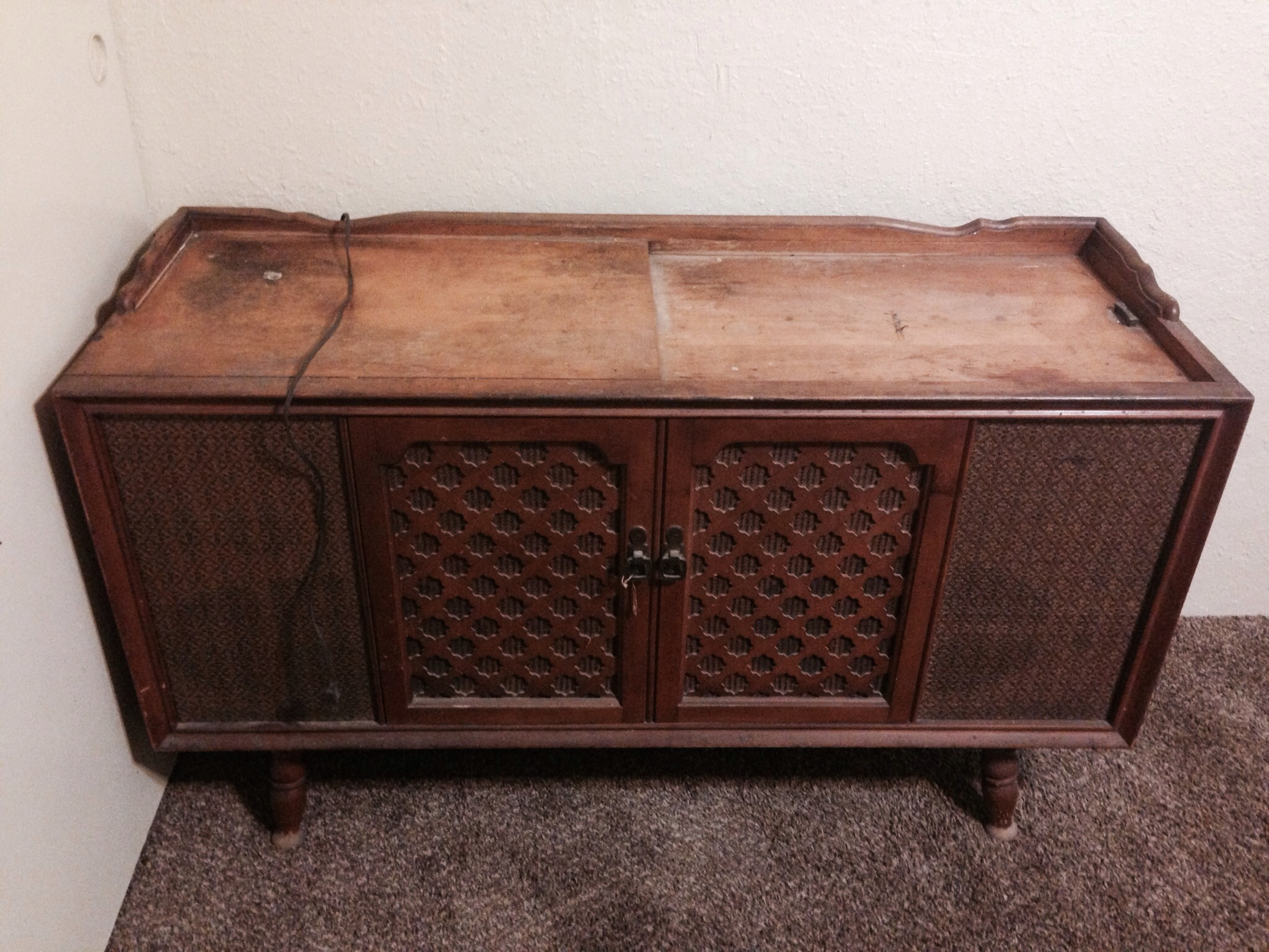Rca Victrola Record Player Cabinet | MF Cabinets