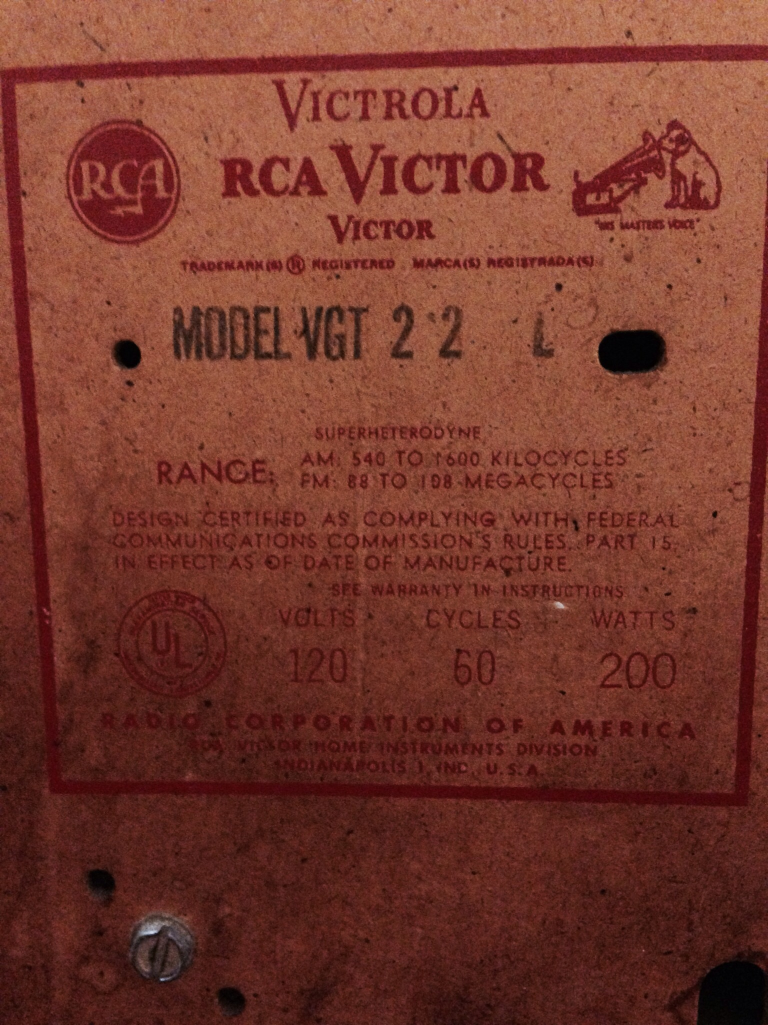 Vintage RCA Victrola New Vista record player antique appraisal