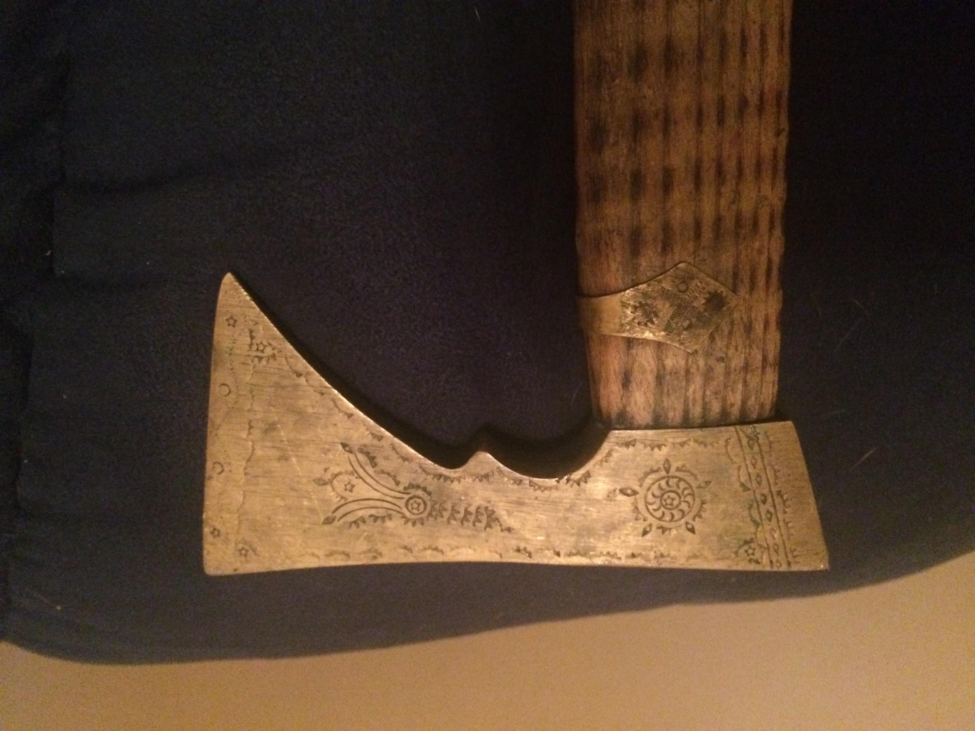 Polish shepherds axe/walking stick ? antique appraisal
