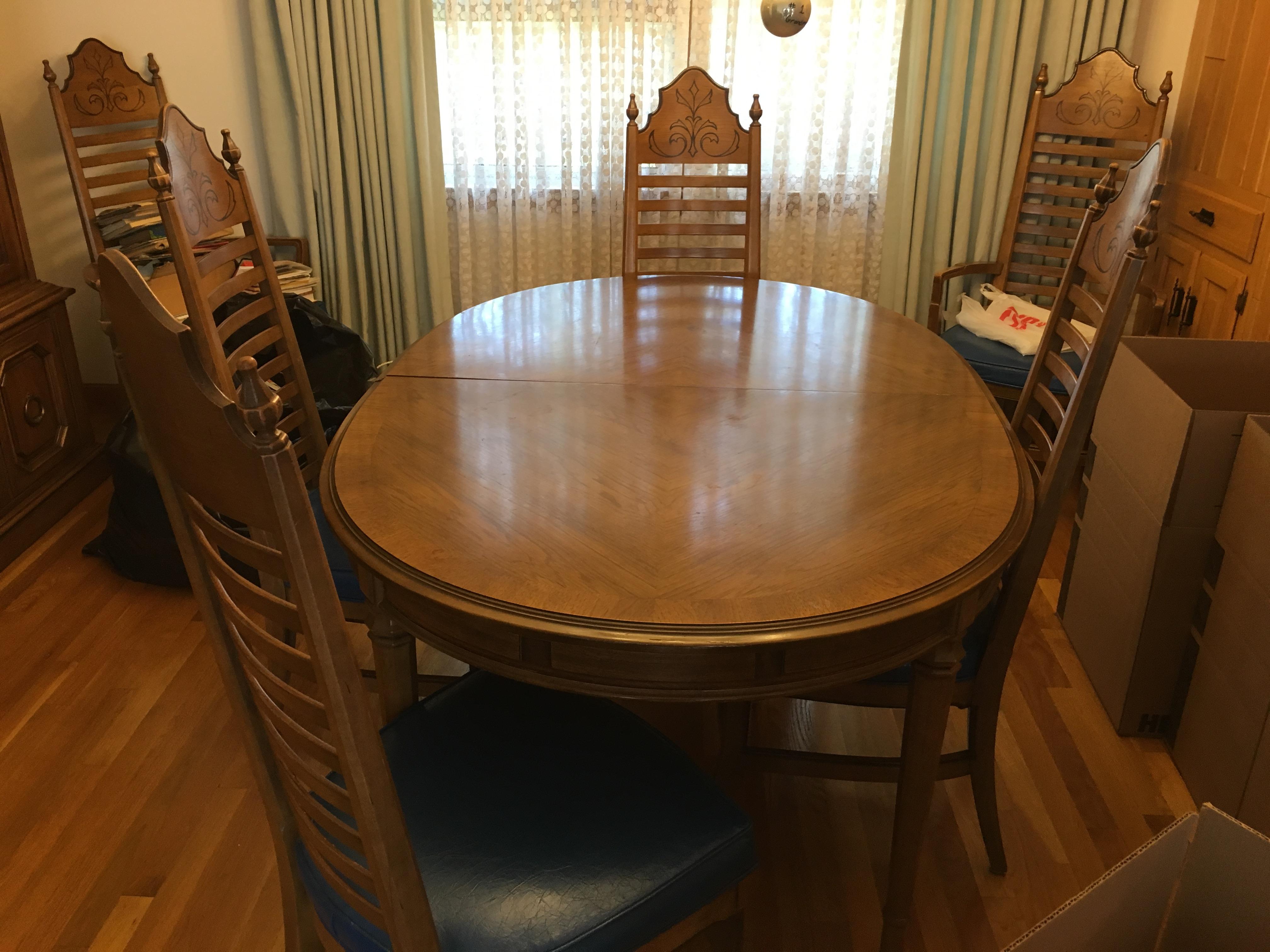 drexel dining room furniture 1960 | 1960'S Drexel Dining room set antique appraisal ...