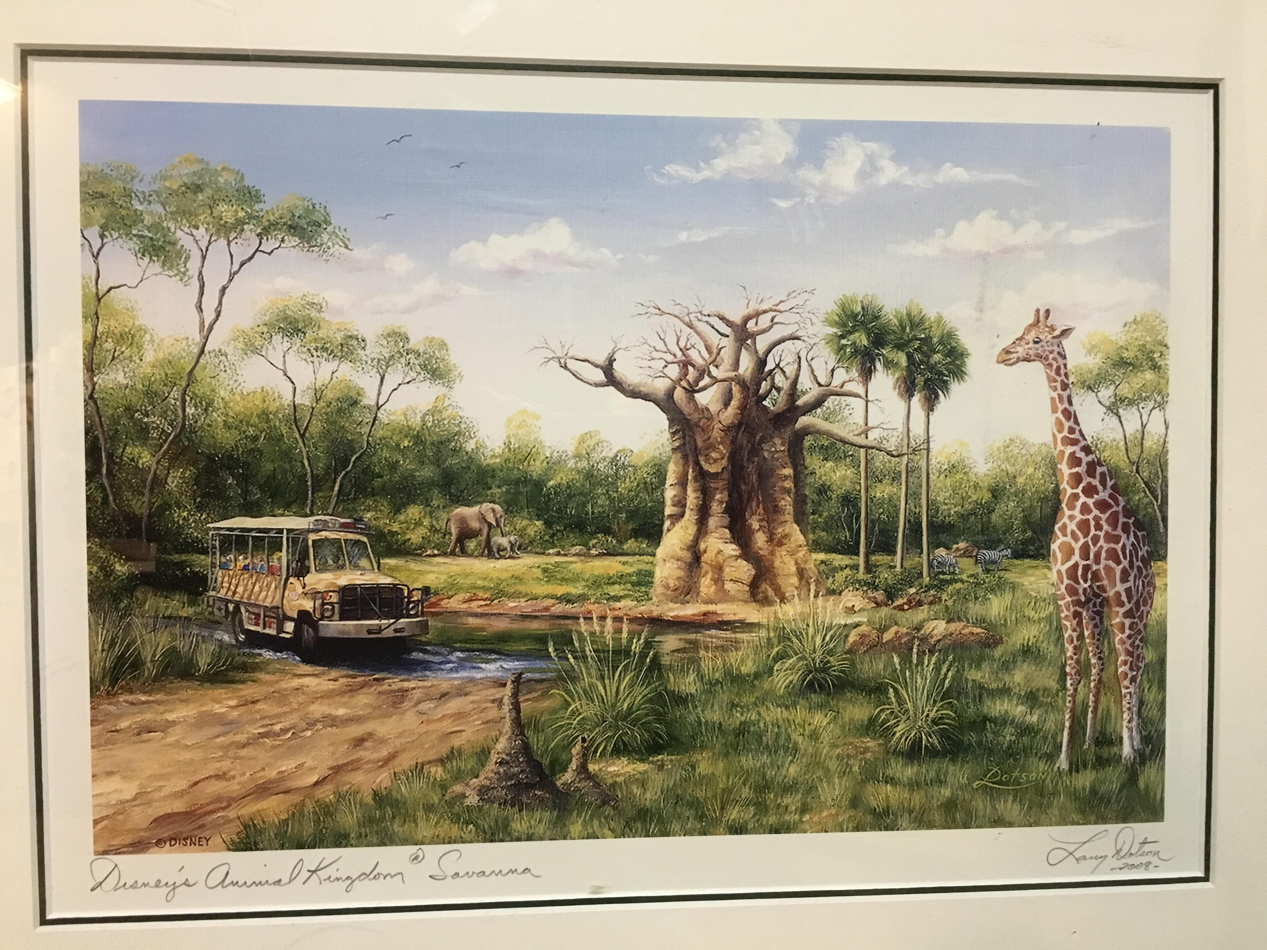 20 Disney's Animal Kingdom at Savanna portrait by Larry Dotson ...