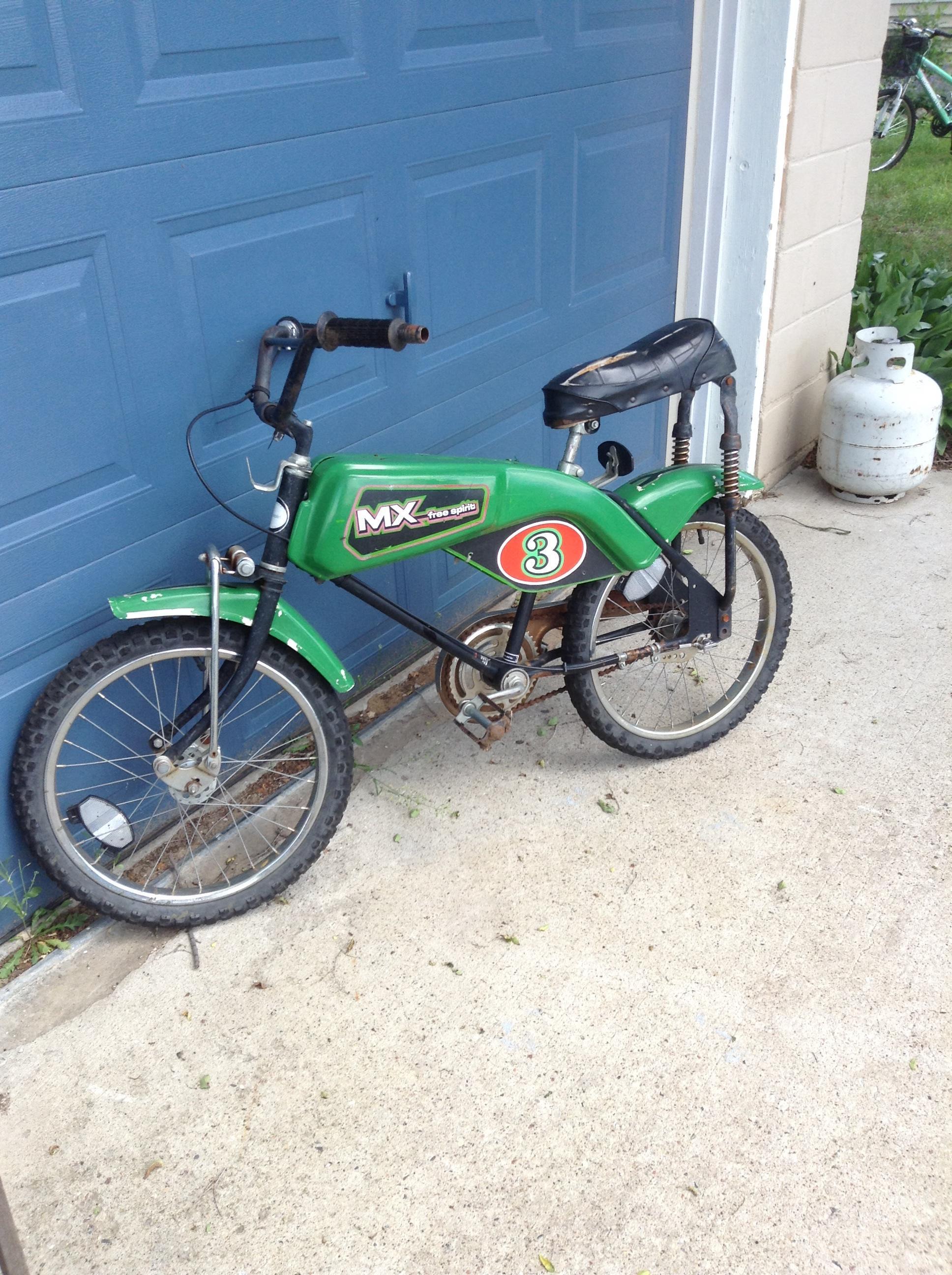 Sears roebucks free spirit mx bike antique appraisal instappraisal sears roebucks free spirit mx bike sciox Gallery
