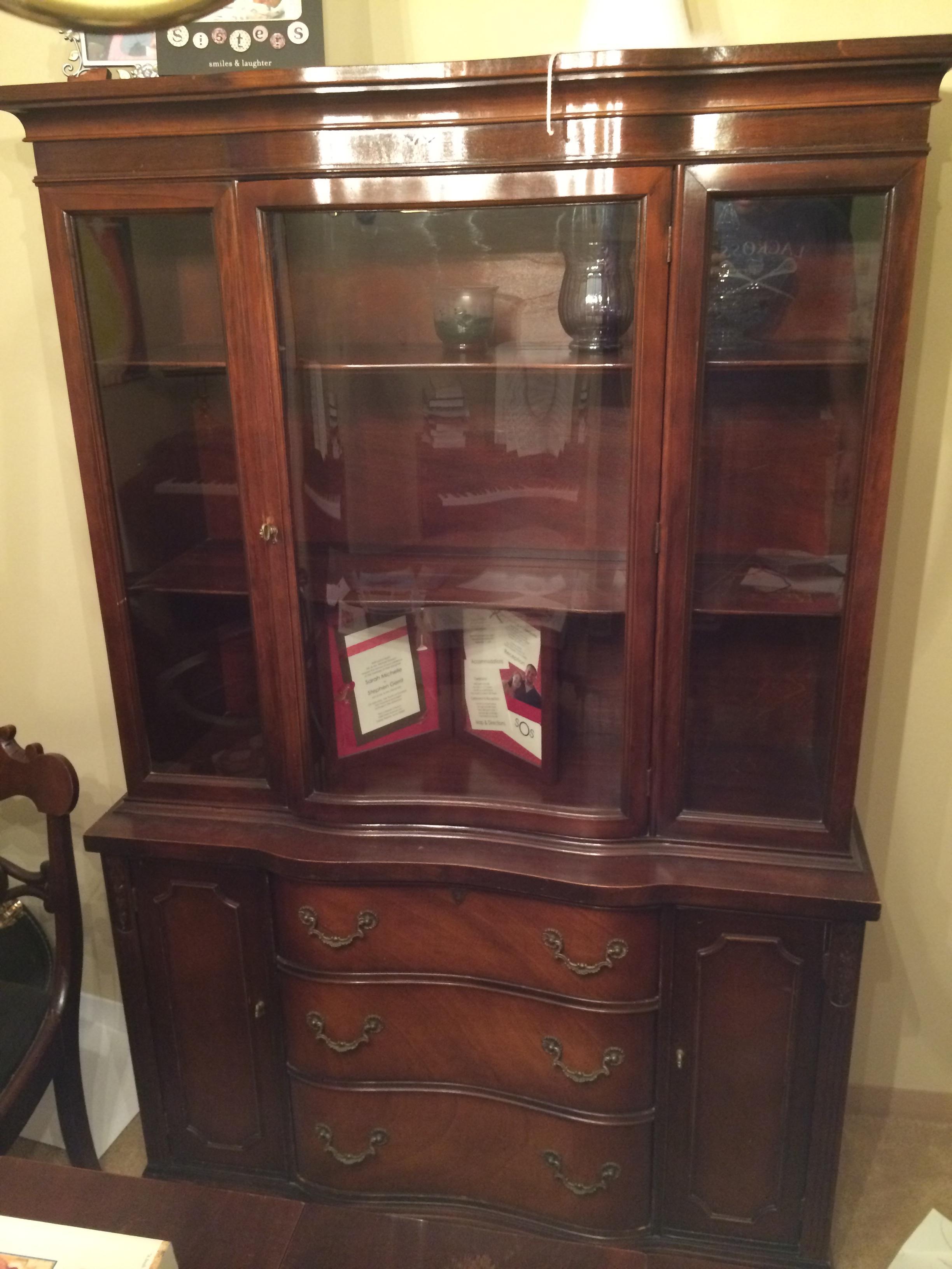 antique dining room hutch antique appraisal instappraisal. Black Bedroom Furniture Sets. Home Design Ideas