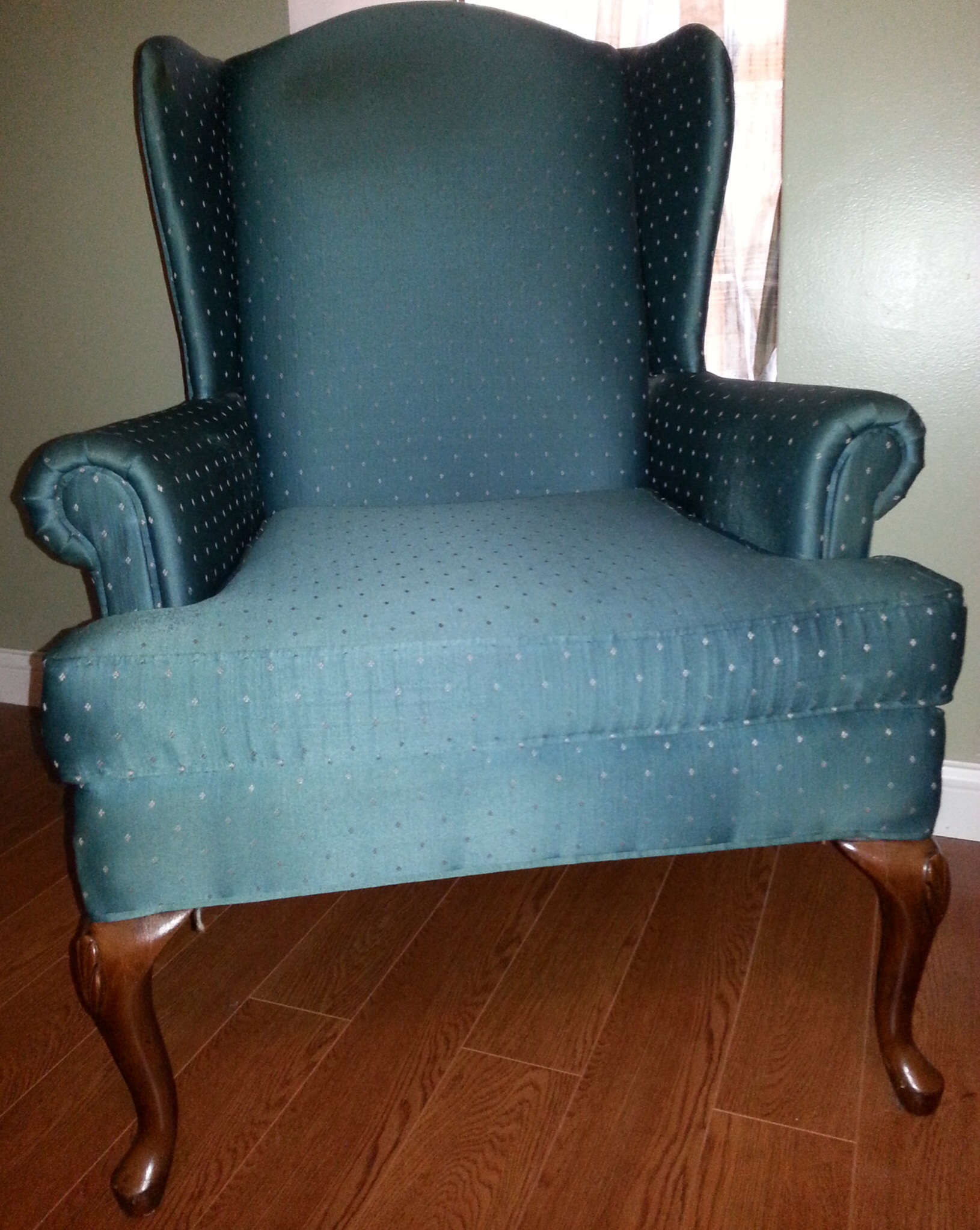 2 Fairfield Chair Company Wingback Chairs