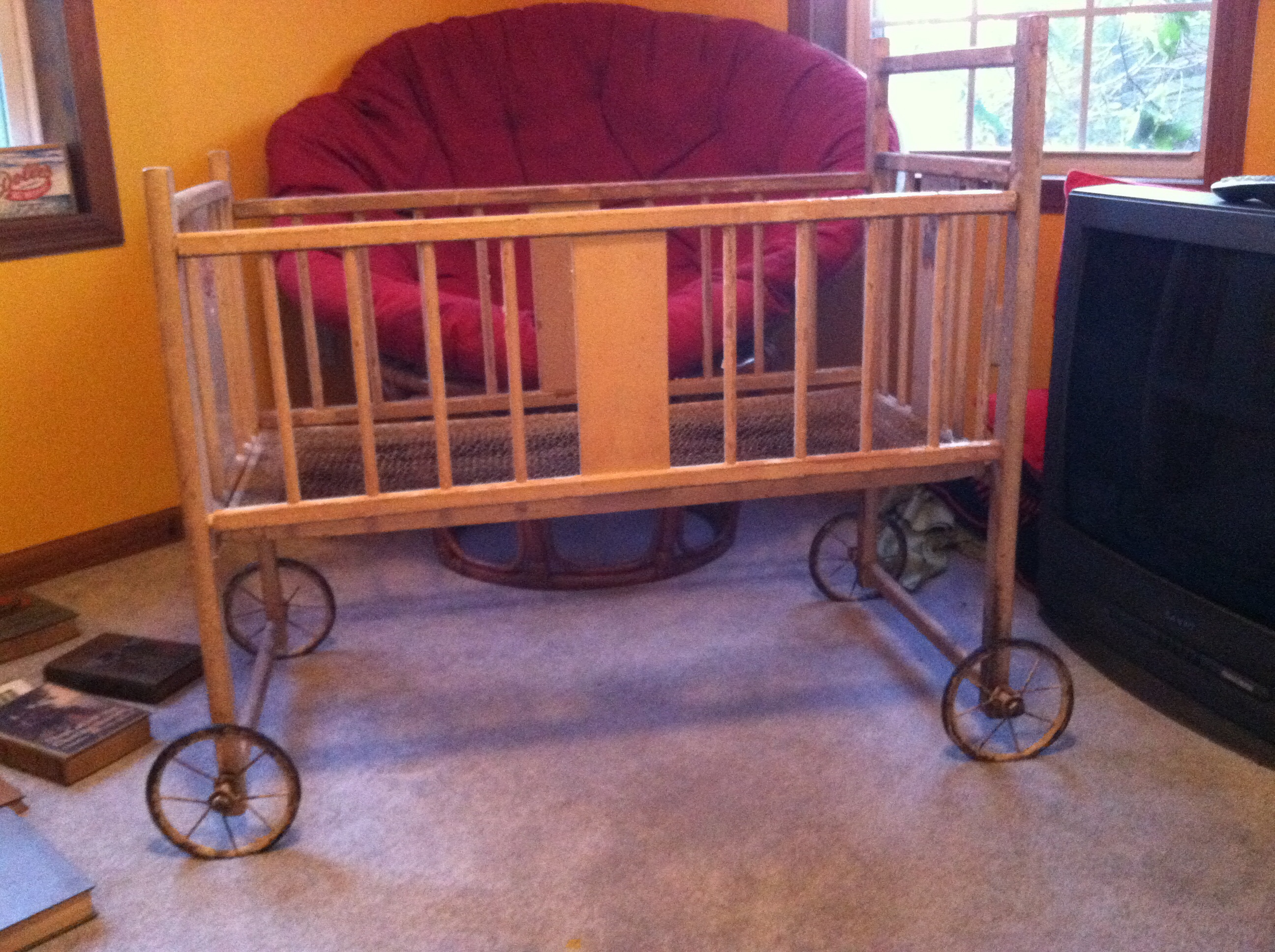 Antique Baby Doll Crib Antique Appraisal Instappraisal