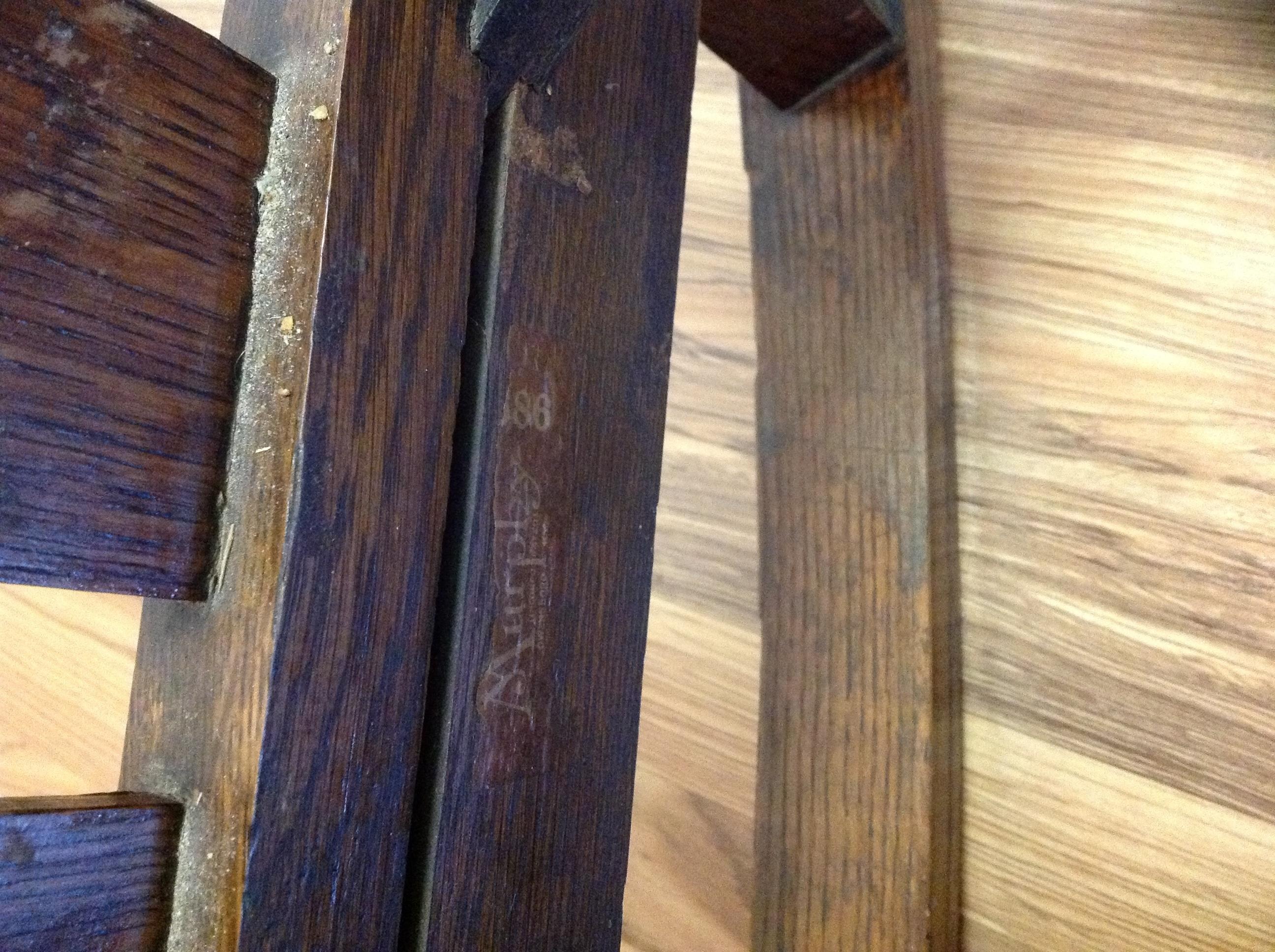 Murphy Chair pany Owensboro KY antique appraisal