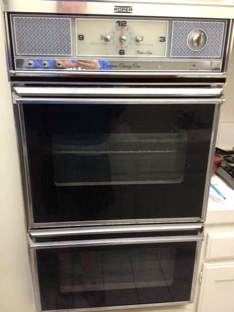 Roper Double Wall Oven Gas With Rotisserie Antique