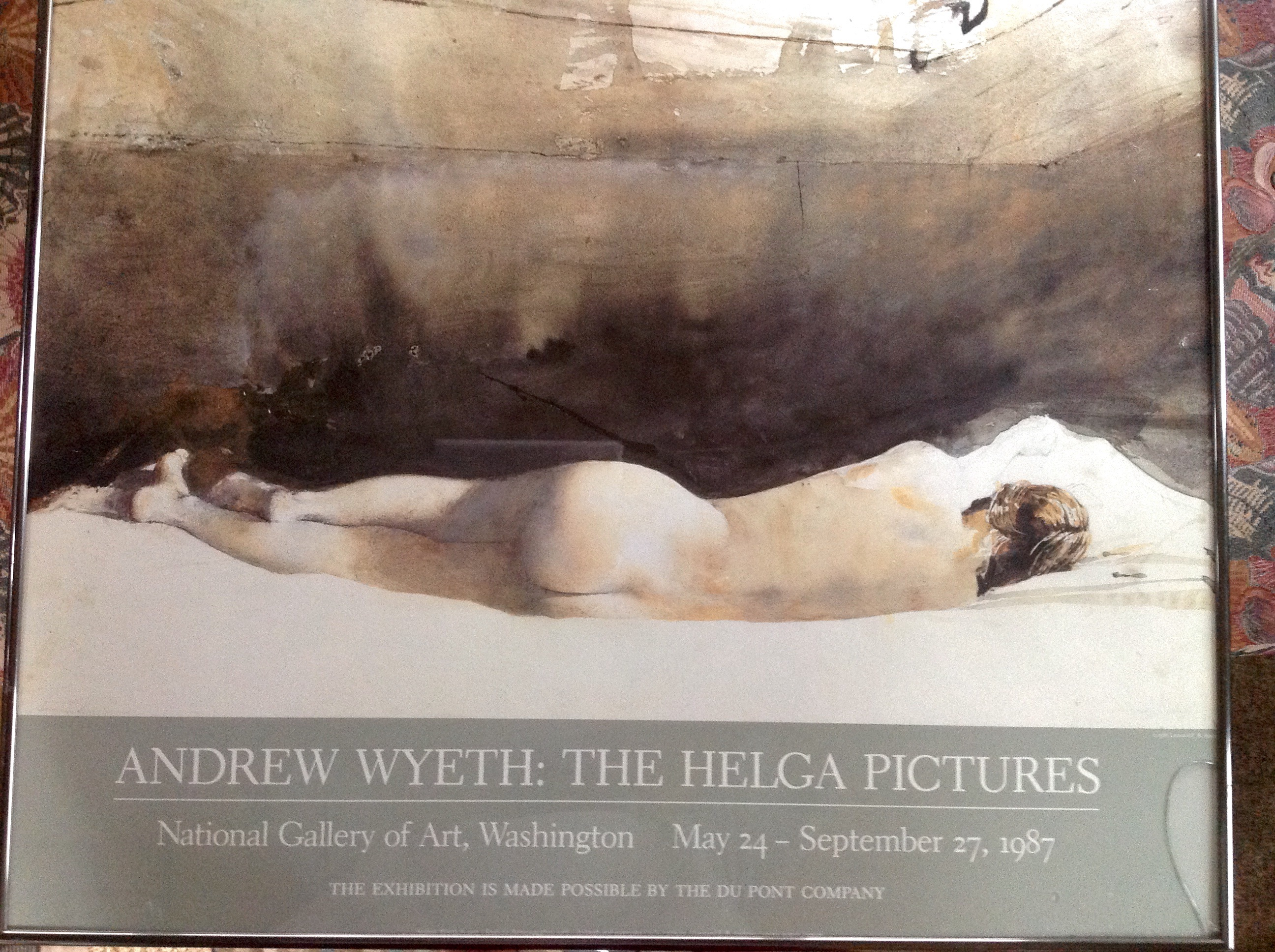 Original Poster Andrew Wyeth The Helga Pictures National