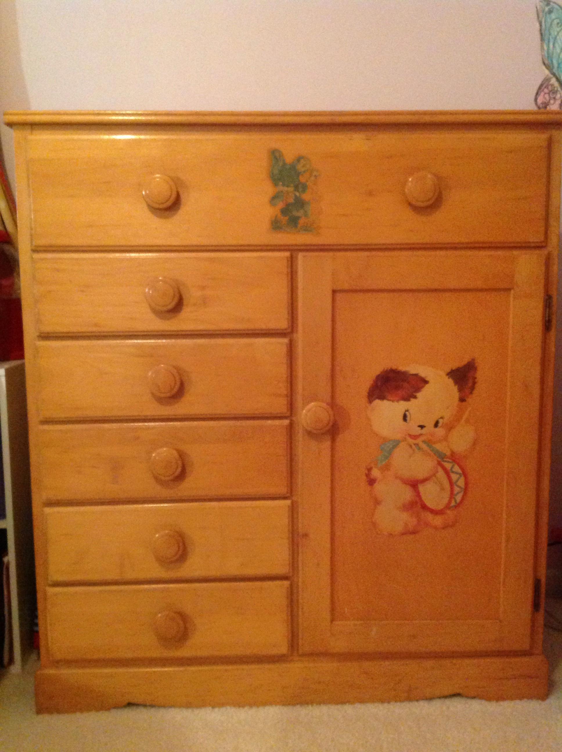 Merveilleux Antique Baby Furniture