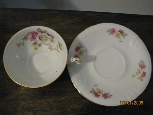 Winterling Bavaria Germany Cup And Saucer Antique