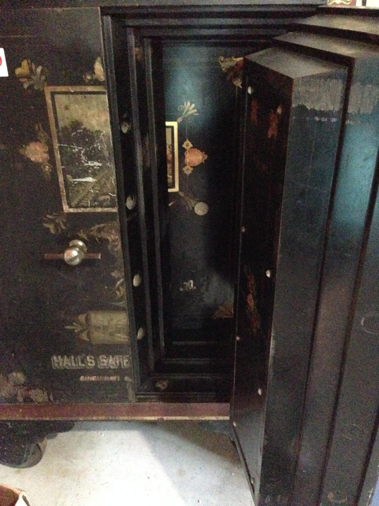 Antique Safe - Halls Safe & Lock Co antique appraisal