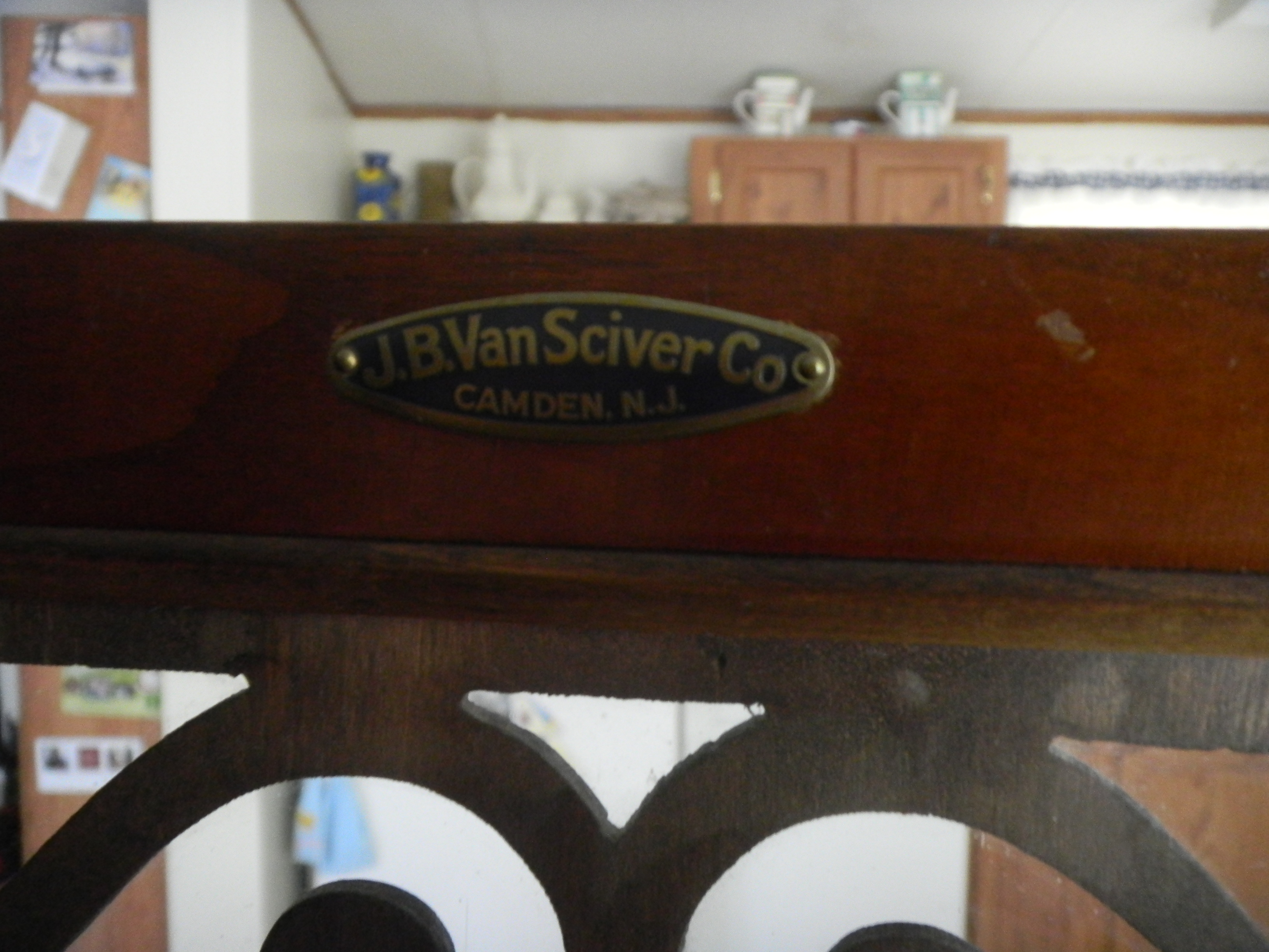J B Van Sciver Small China Cabinet Antique Appraisal