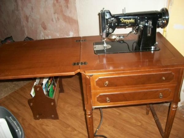 Domestic Sewing Machine Antique Appraisal InstAppraisal Impressive Antique Domestic Sewing Machine