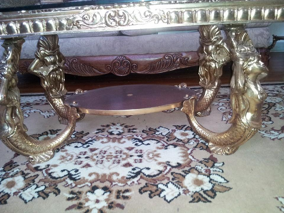 mermaid coffee tables antique appraisal | instappraisal