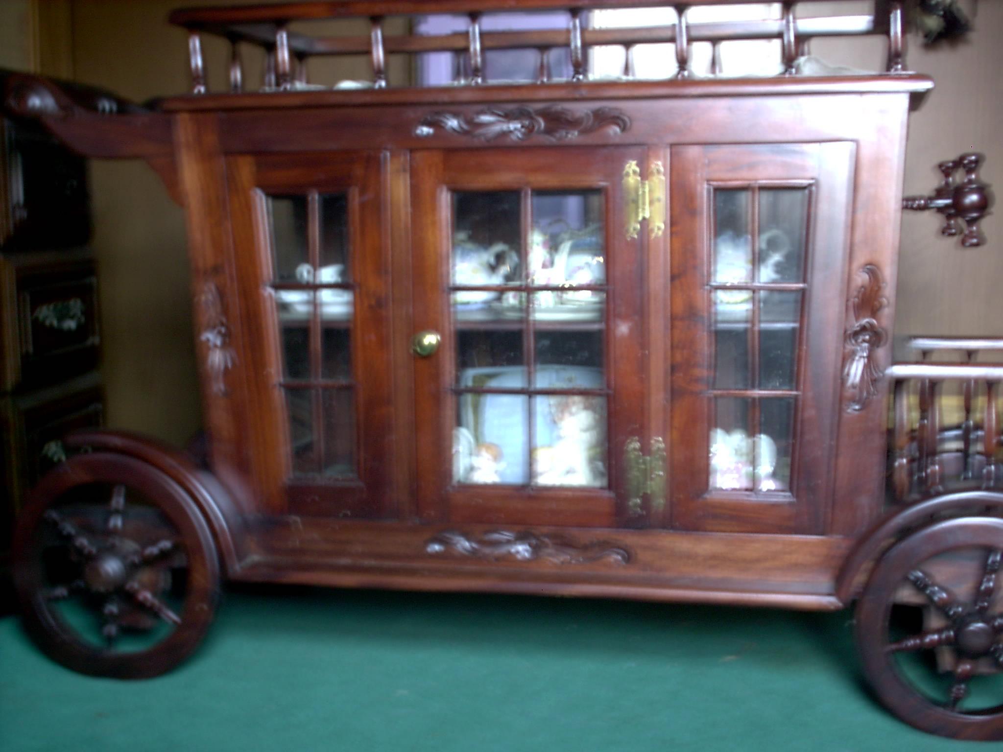 Rolling Wooden Tea Cart Antique Appraisal Instappraisal