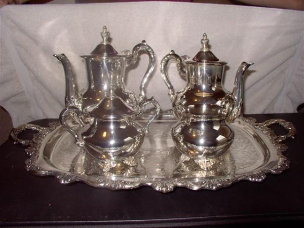 Interesting Rogers Silver Tea Set Gallery - Best Image Engine ...