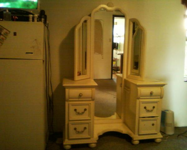 without fold mirror contemporary desk mirrored makeup and bedroom tri vanity