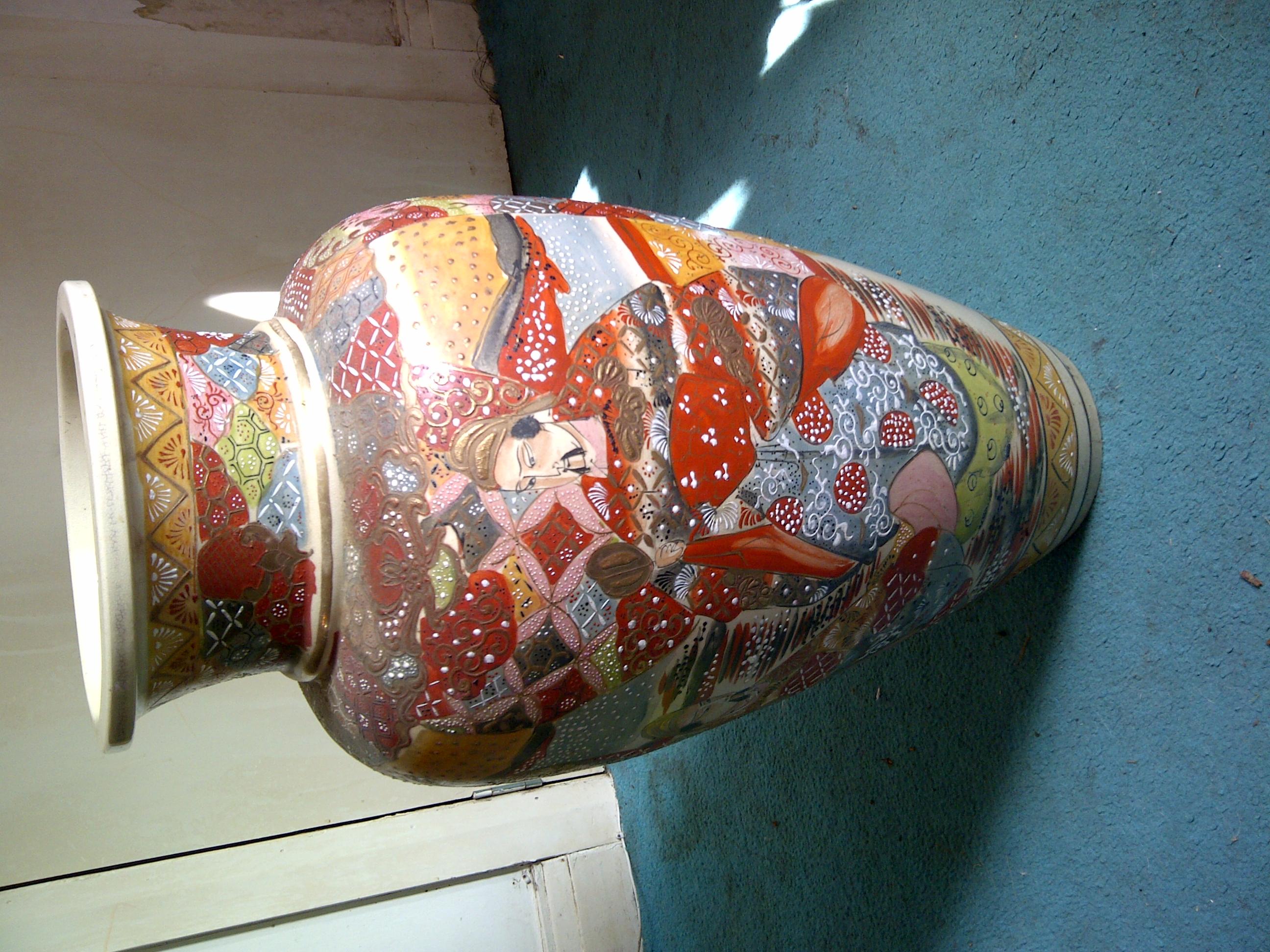 Japanese satsuma vase antique appraisal instappraisal japanese satsuma vase reviewsmspy